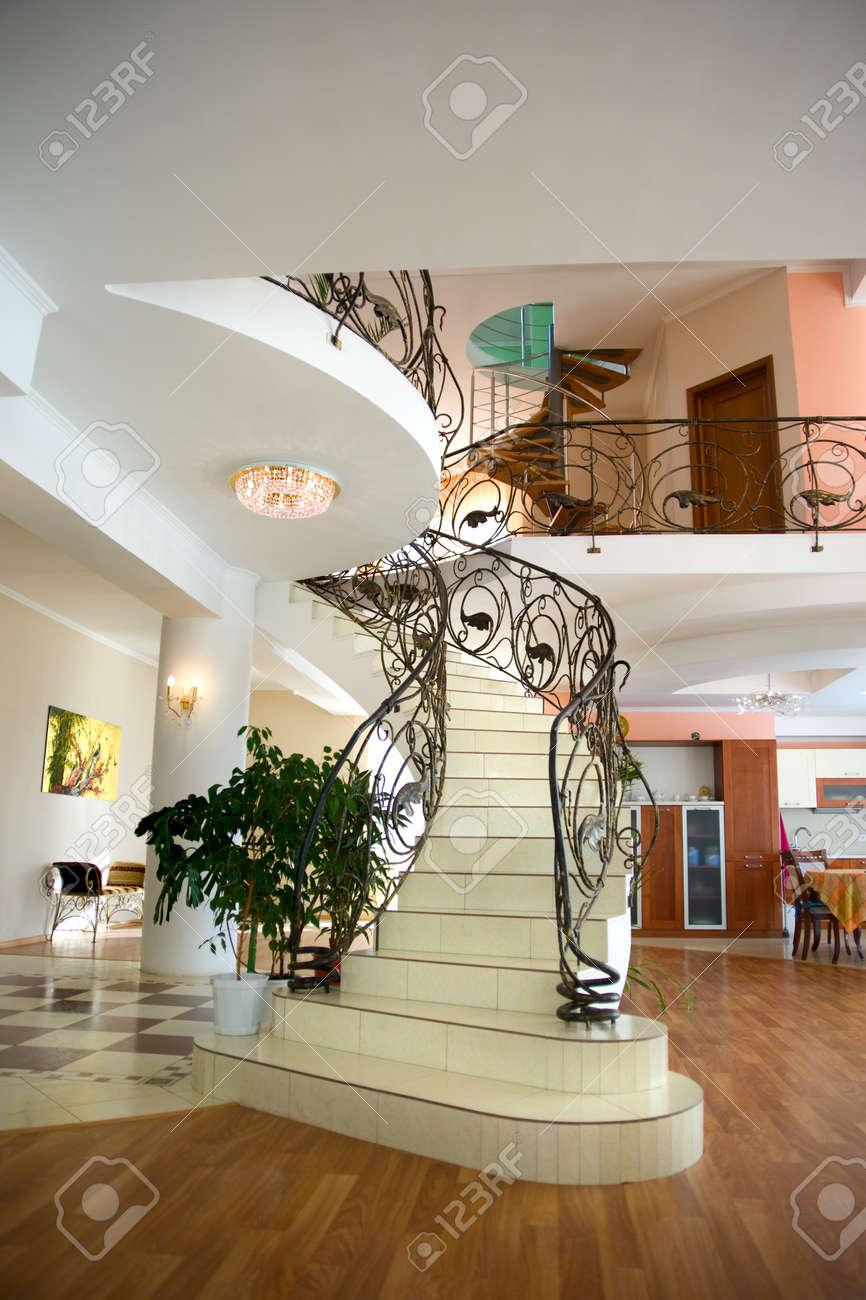 Banque Du0027images   Cette Chambre Moderne Dans La Maison De Luxe. Intérieur  De La Maison