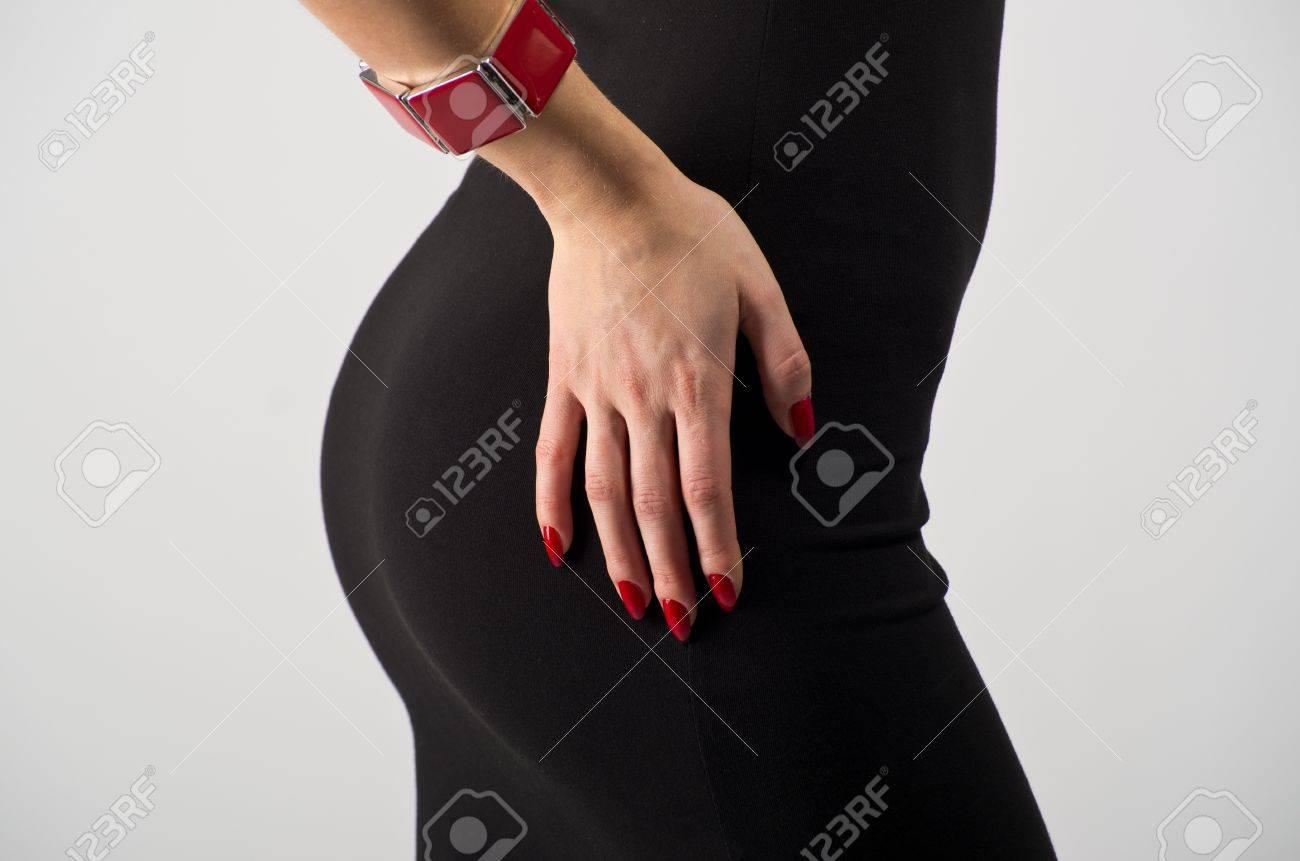 Ass In Dress beautiful ass in black dress