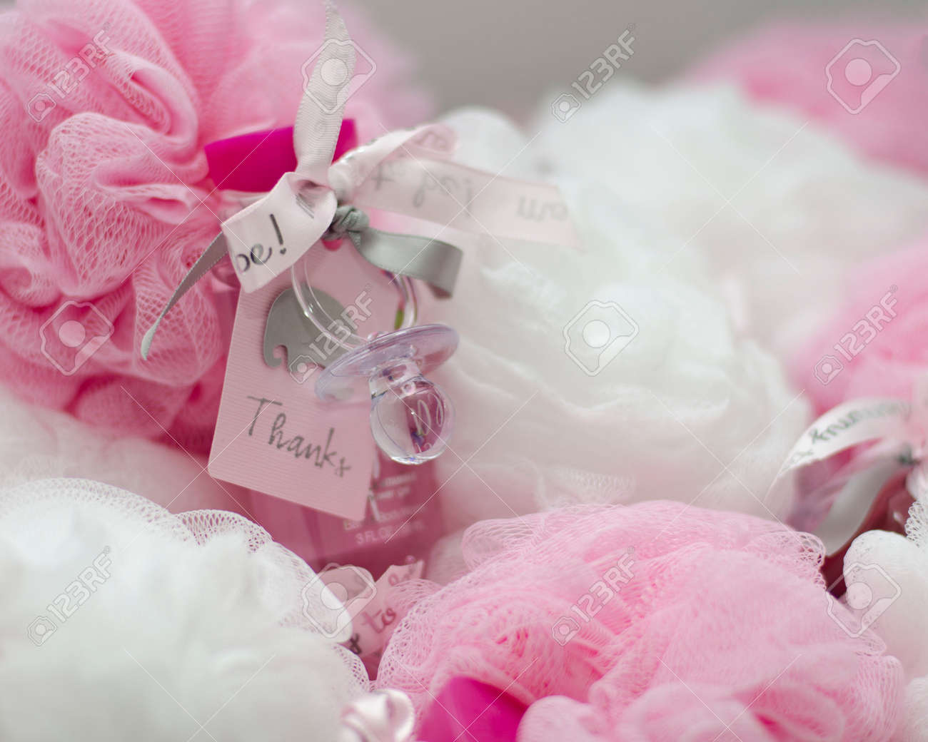 Baby Shower Party Favors Stock Photo, Picture And Royalty Free Image ...