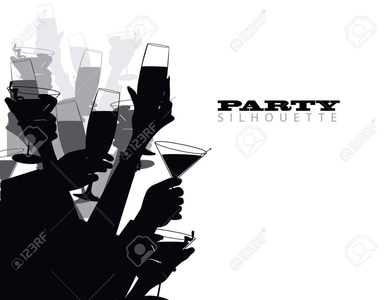 Party Toast Stock Vector - 20752690