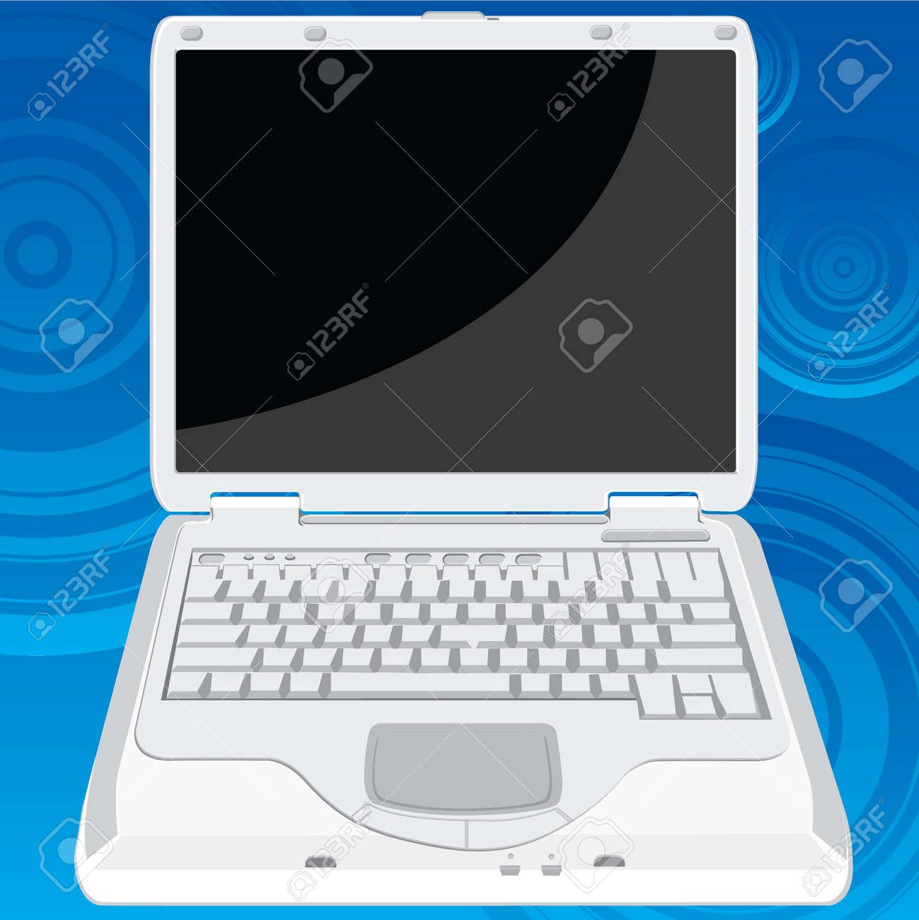 La Première Perspective D Un Ordinateur Portable Qui Peut être Utilisée Dans N Importe Quel But L Ordinateur Portable écran Peut Remplacer Par Une