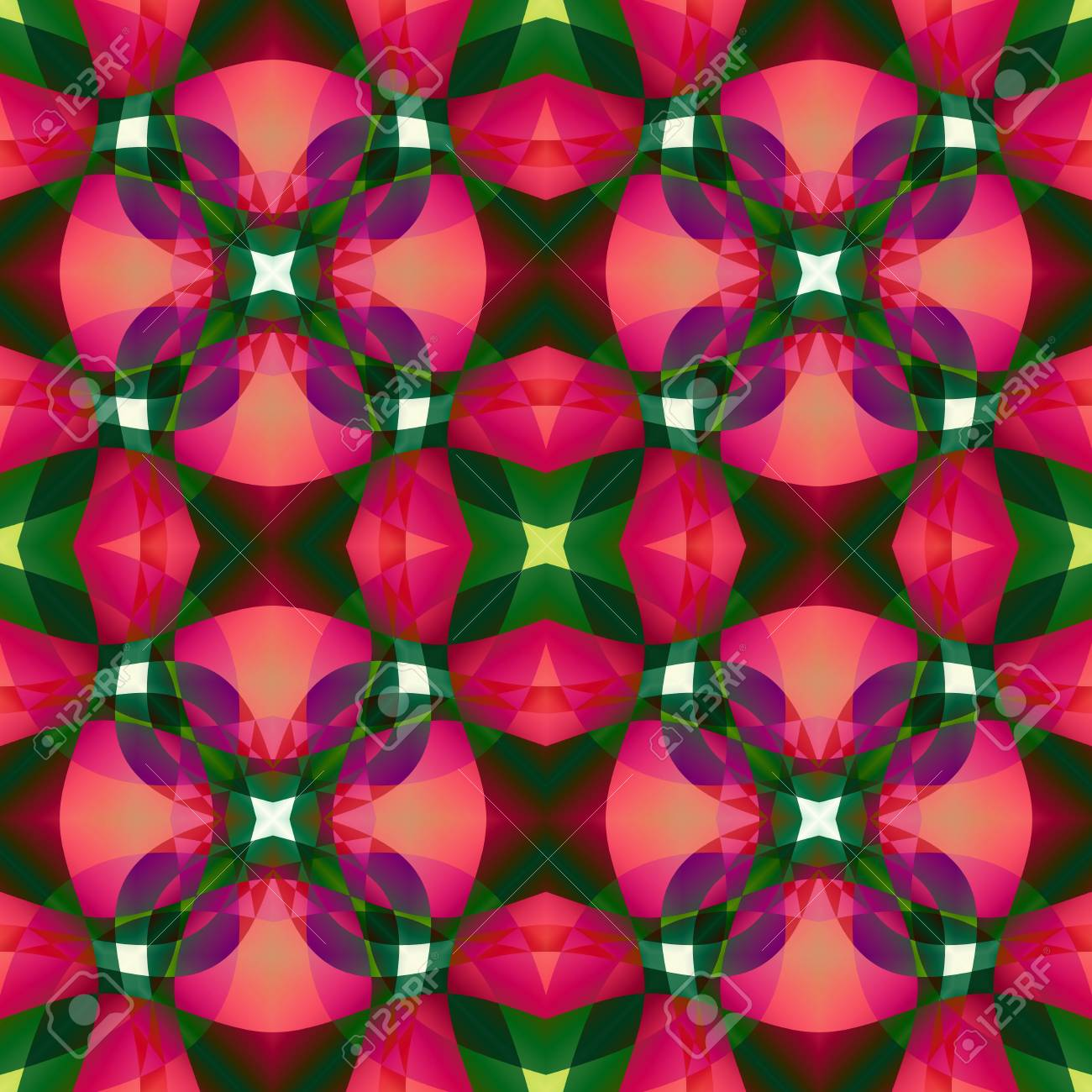Pink Green Modern Abstract Texture Detailed Background Illustration