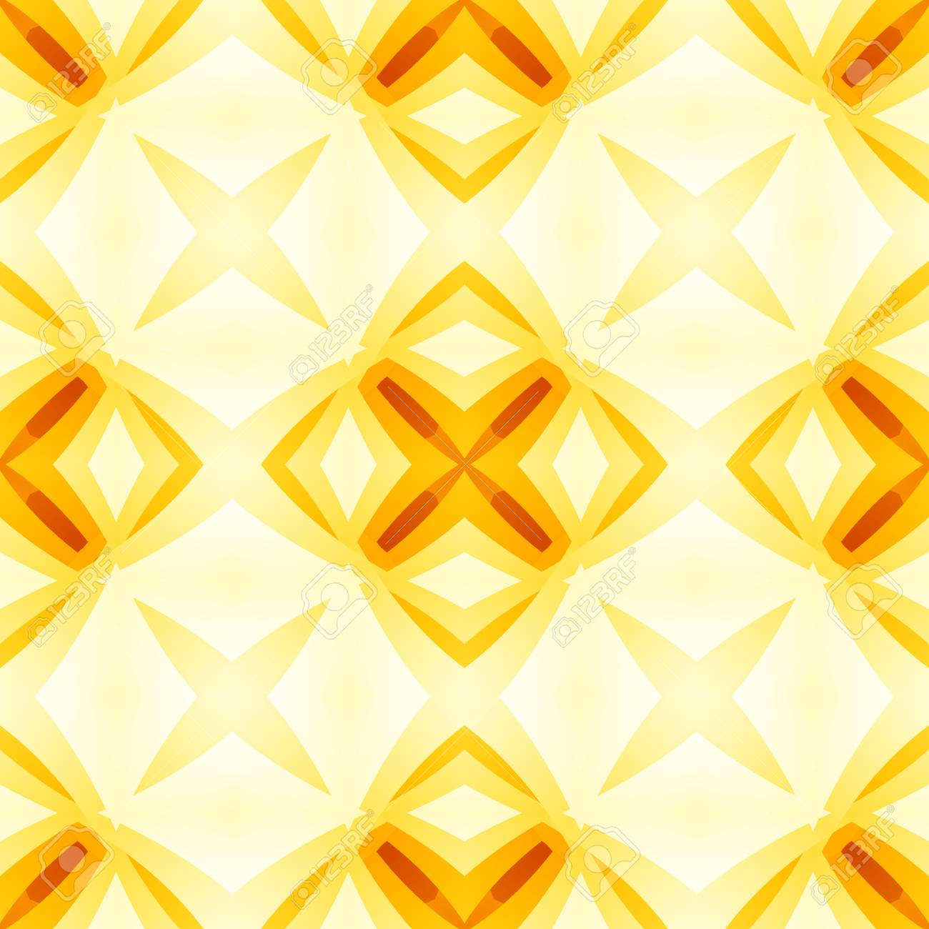 Yellow Orange Red Abstract Texture Bright Seamless Tile Home
