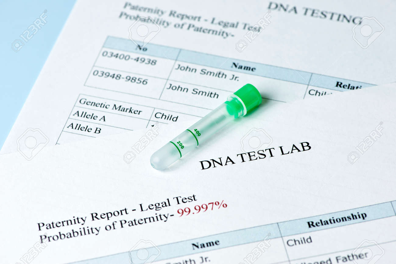 Paternity test results report with lab sample test tube stock photo paternity test results report with lab sample test tube stock photo 37913327 thecheapjerseys Images