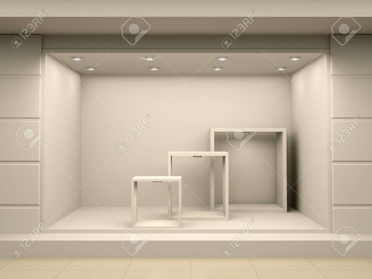 Empty Window Display
