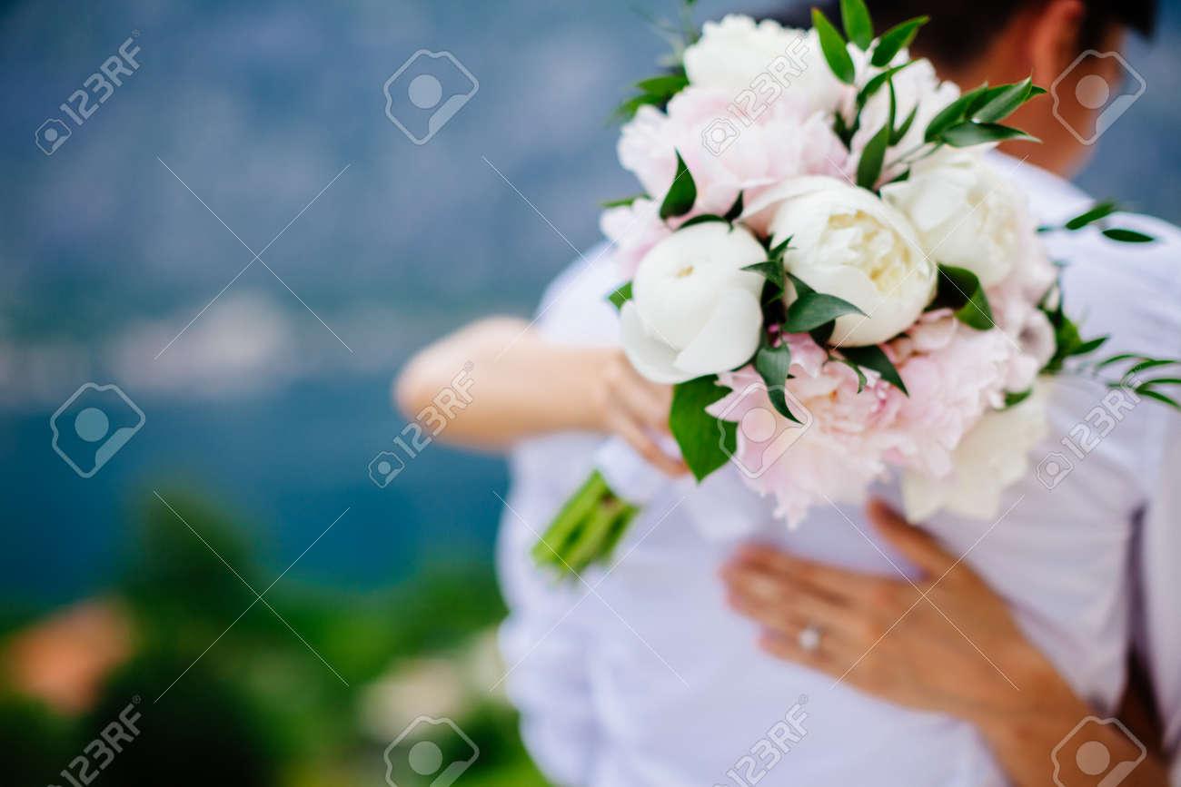 Hochzeitsstrauss Pfingstrosen Hochzeitsblumenstrauss Und