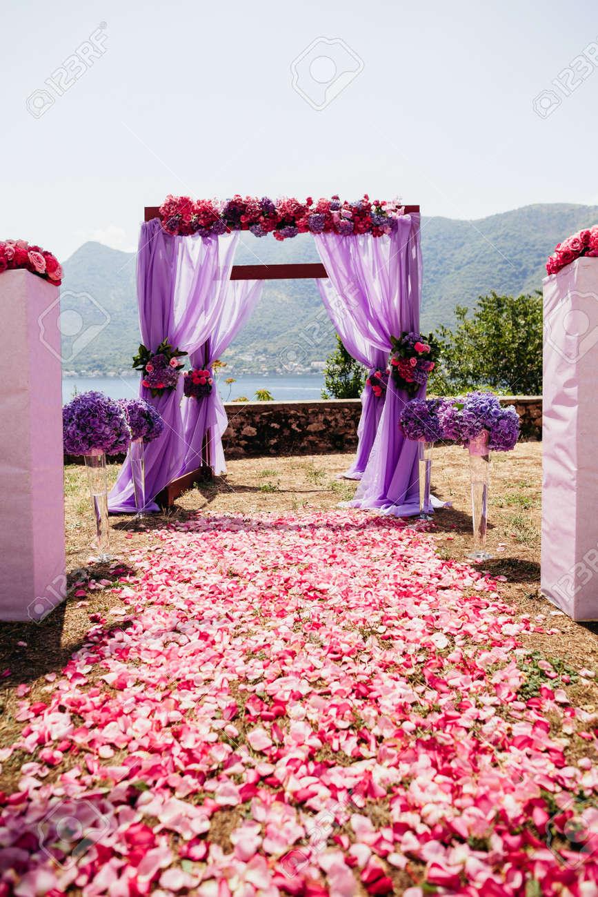 Hochzeit Insel Und Bogen Mit Hochzeiten Stuhle Und Hochzeit