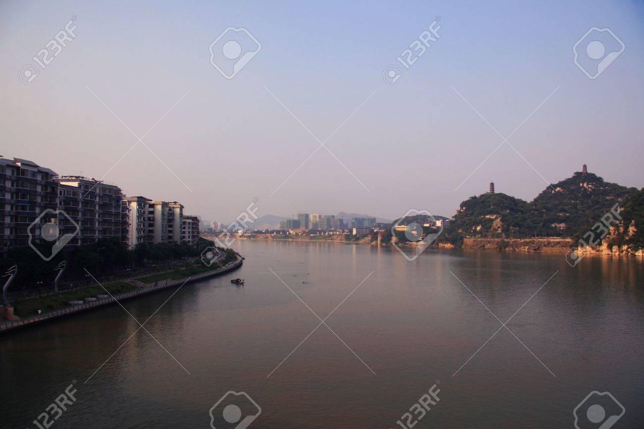 柳州市の風景 ロイヤリティーフ...