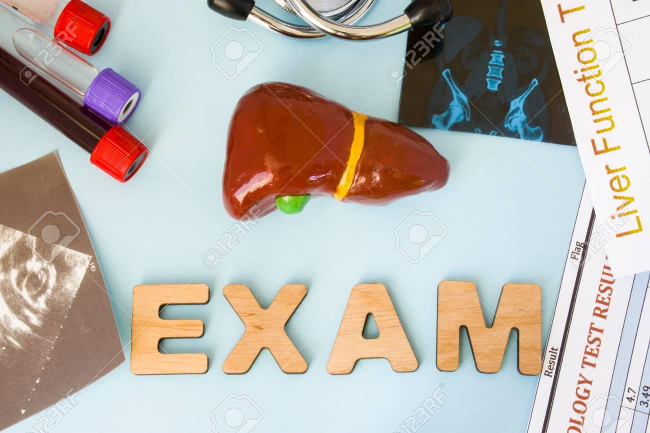 Gastroenterology Liver Or Gall Bladder Examination Tests And