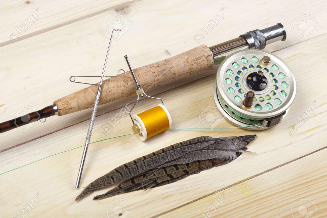 Fly fishing Stock Photo - 5787837