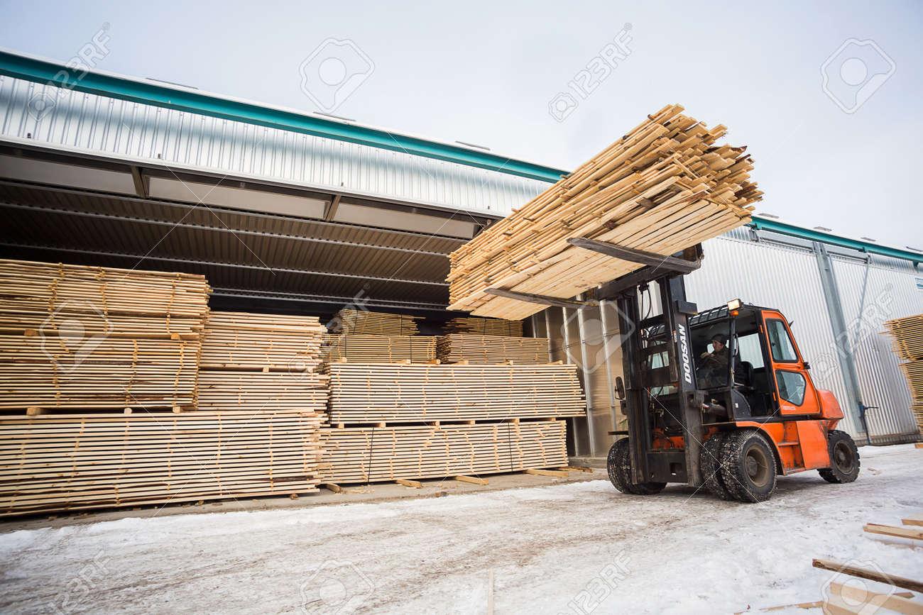 Wood Forklift
