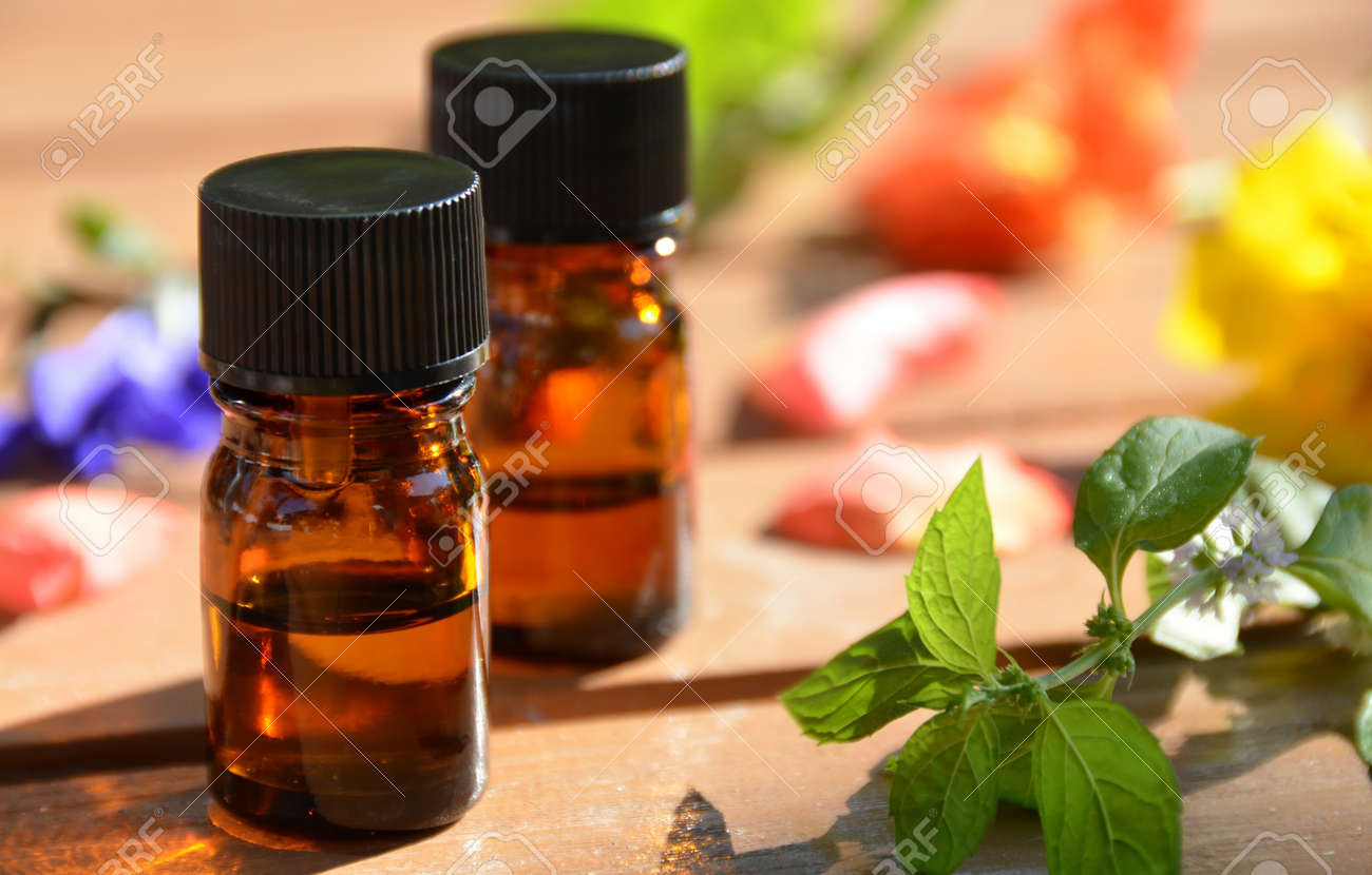 essential oils for aromatherapy treatment - 26777534