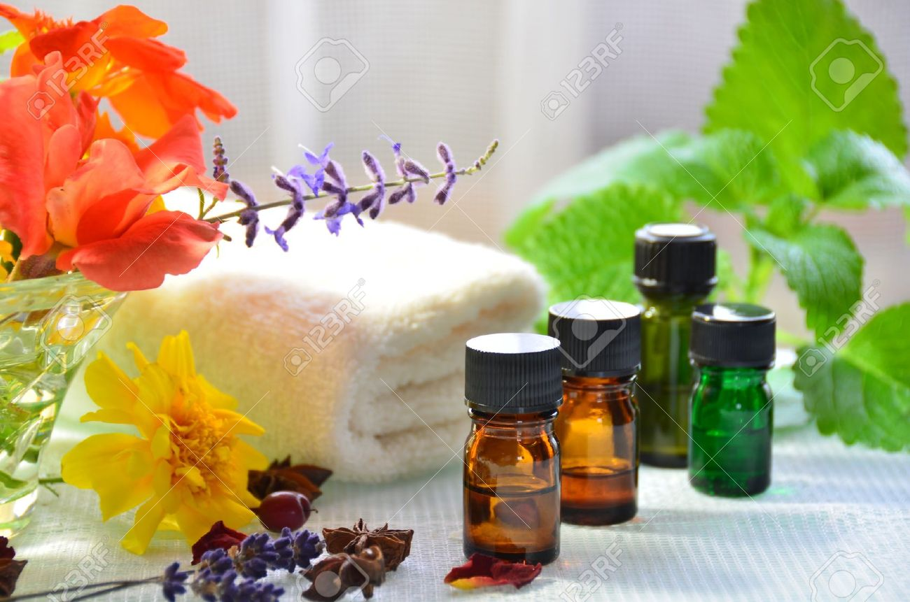 essential oils for aromatherapy - 26965012
