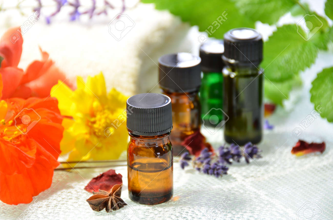 essential oils for aromatherapy - 26965013