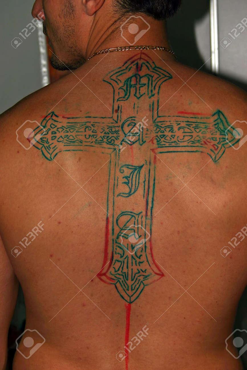 Rücken männer tattoo Tattoorechner
