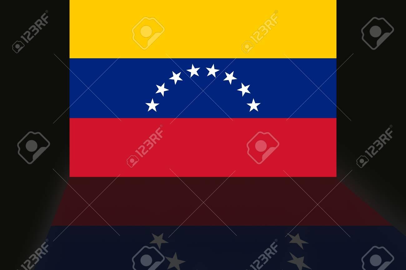 Bandera de Venezuela Foto de archivo - 25036778