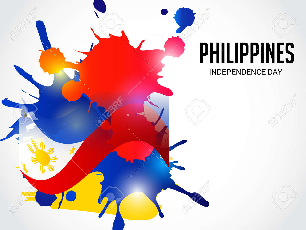 Philippines Independence Day Stock Vector