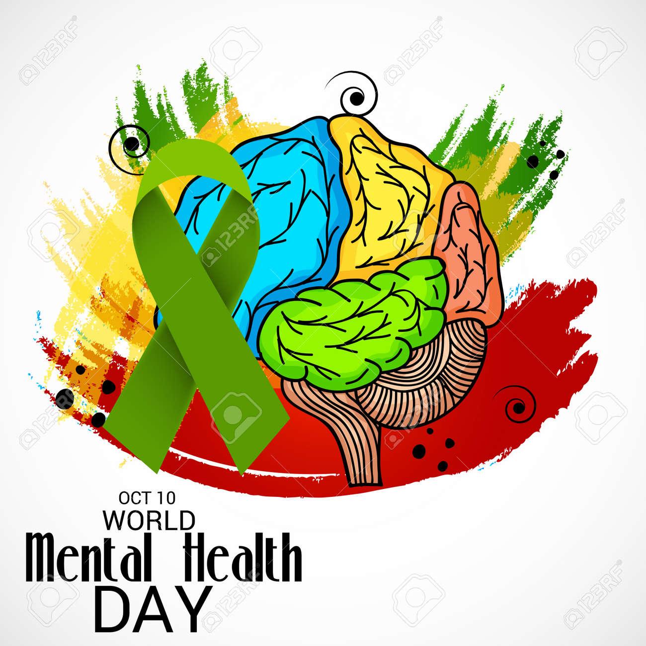 World Mental Health Day clipart - Health, Blue, Text, transparent clip art