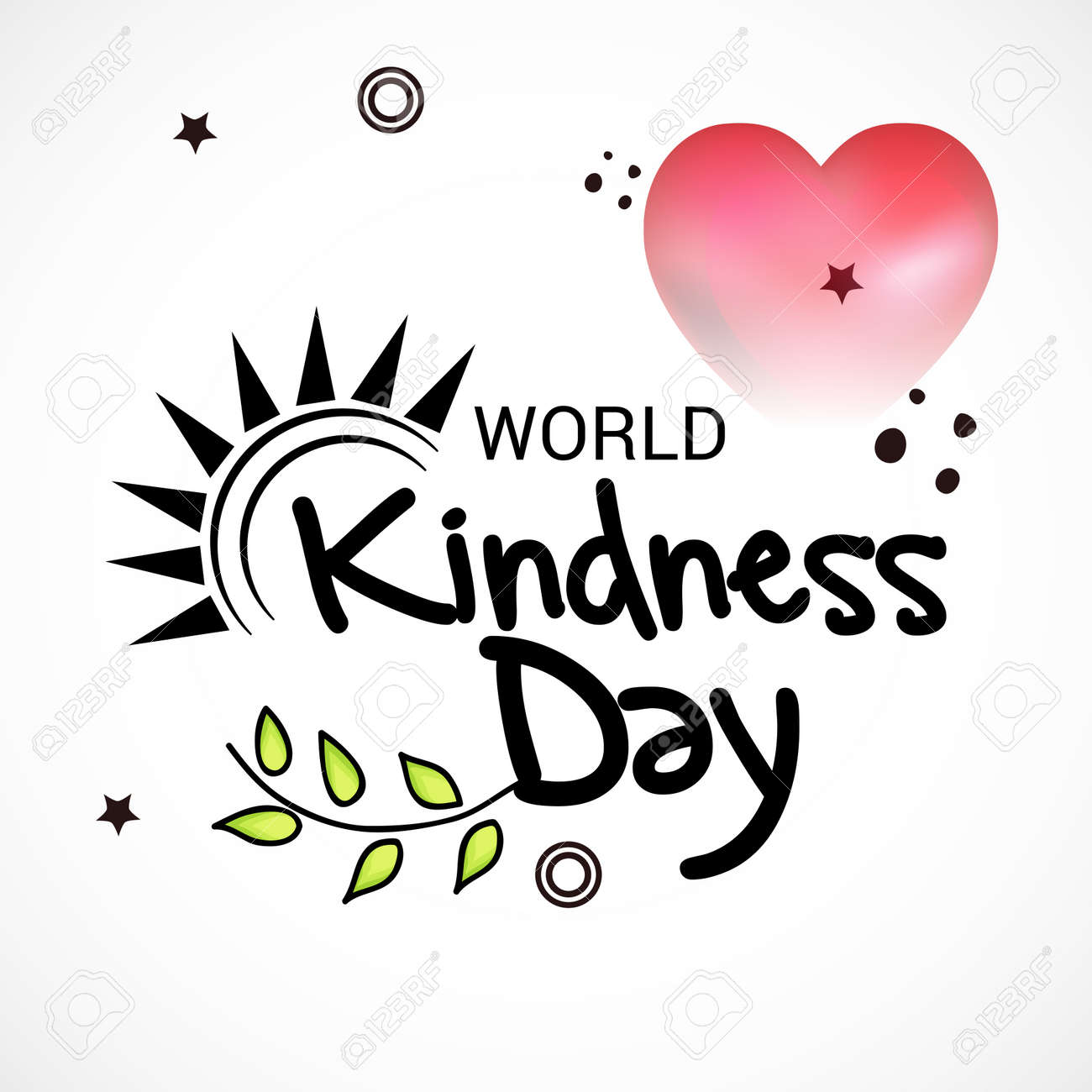 World Kindness Day Royalty Free Cliparts Vectors And Stock Illustration Image 89915551