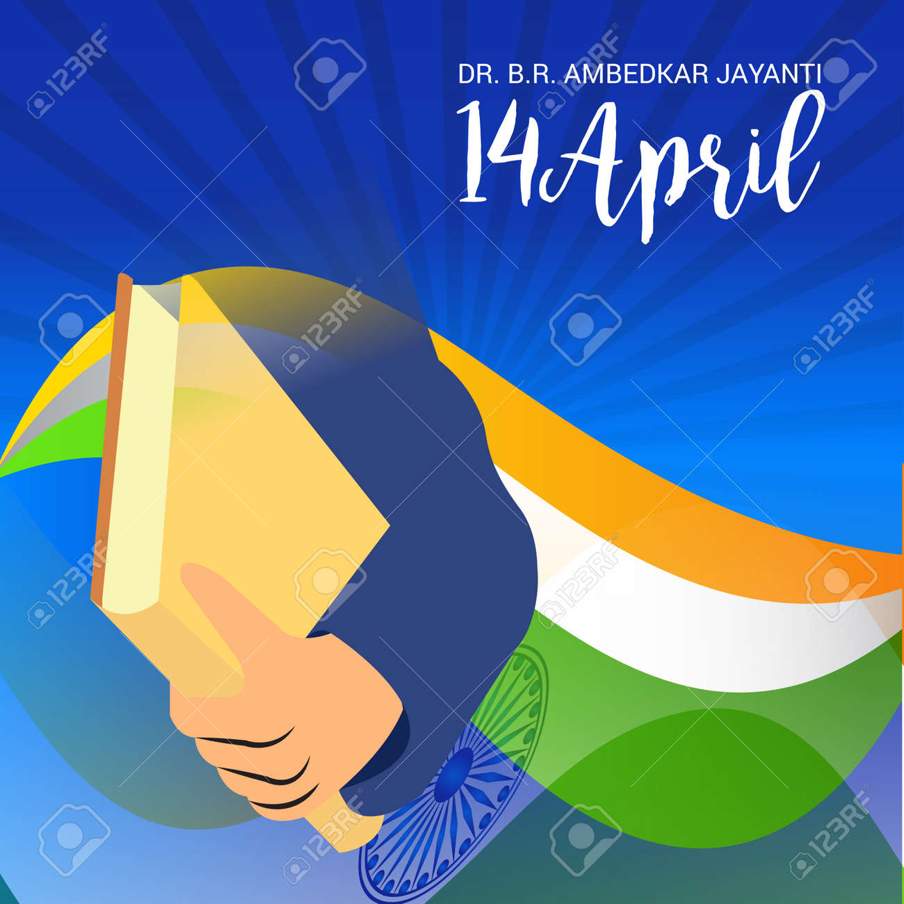 Dr Babasaheb Ambedkar Jayanti Royalty Free Cliparts Vectors And