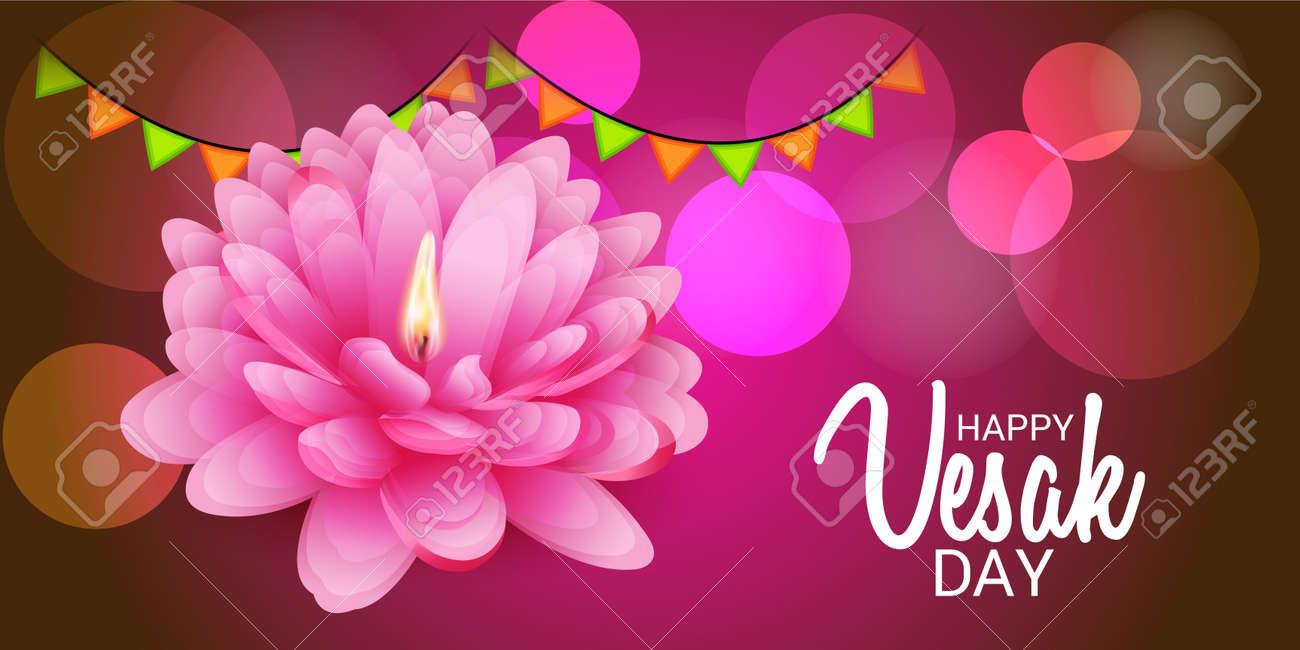 Happy Vesak Day Royalty Free Cliparts Vectors And Stock