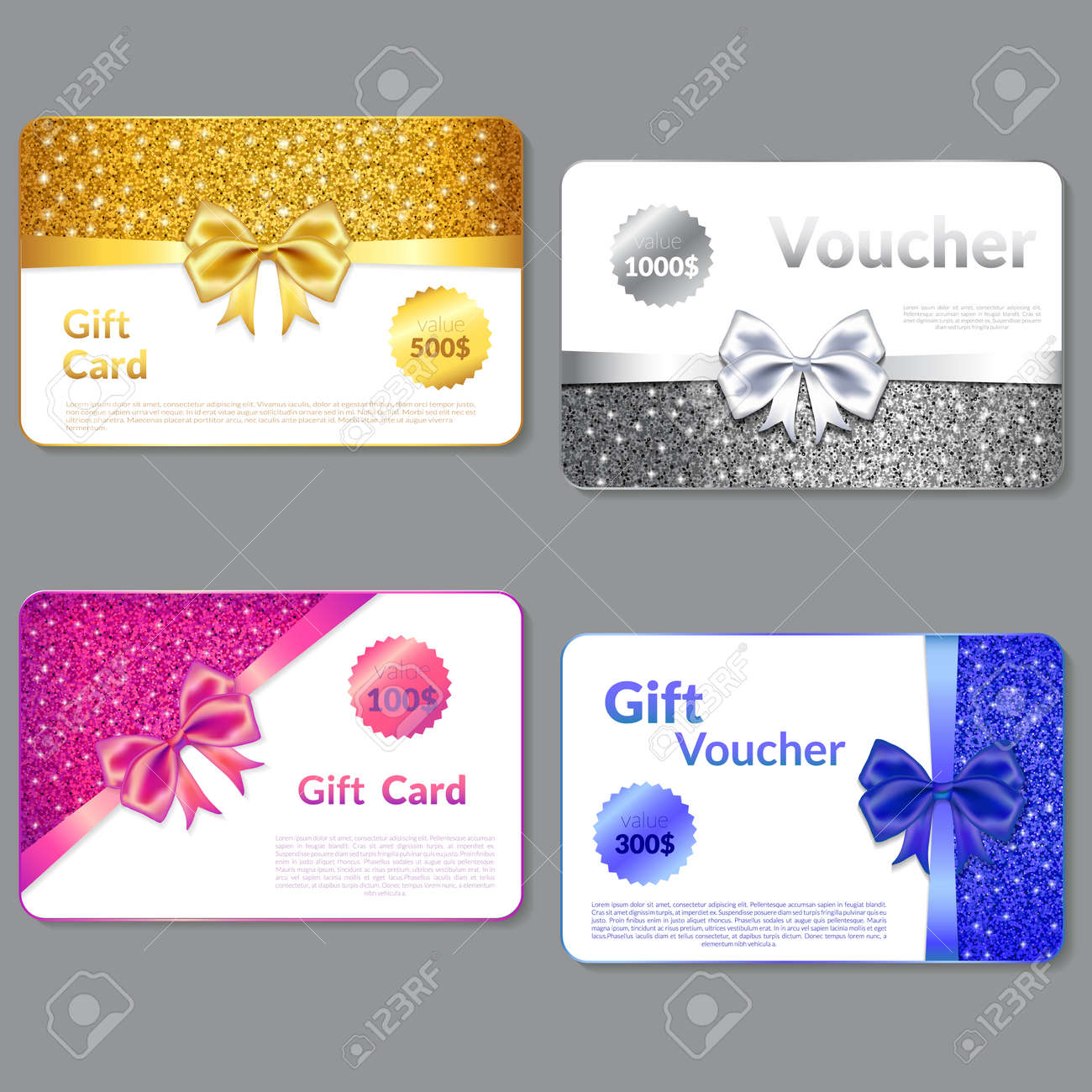 design a gift card | Template