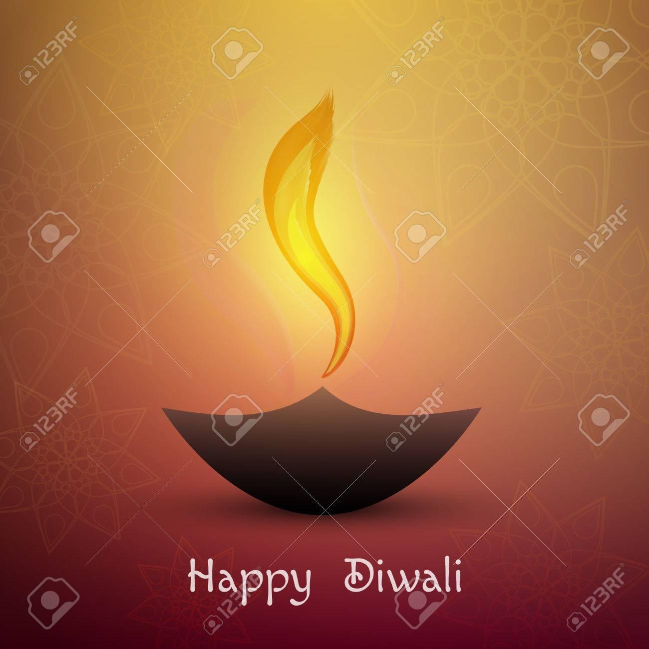 Happy diwali beautiful greeting card for festival diwali royalty happy diwali beautiful greeting card for festival diwali stock vector 65226137 m4hsunfo