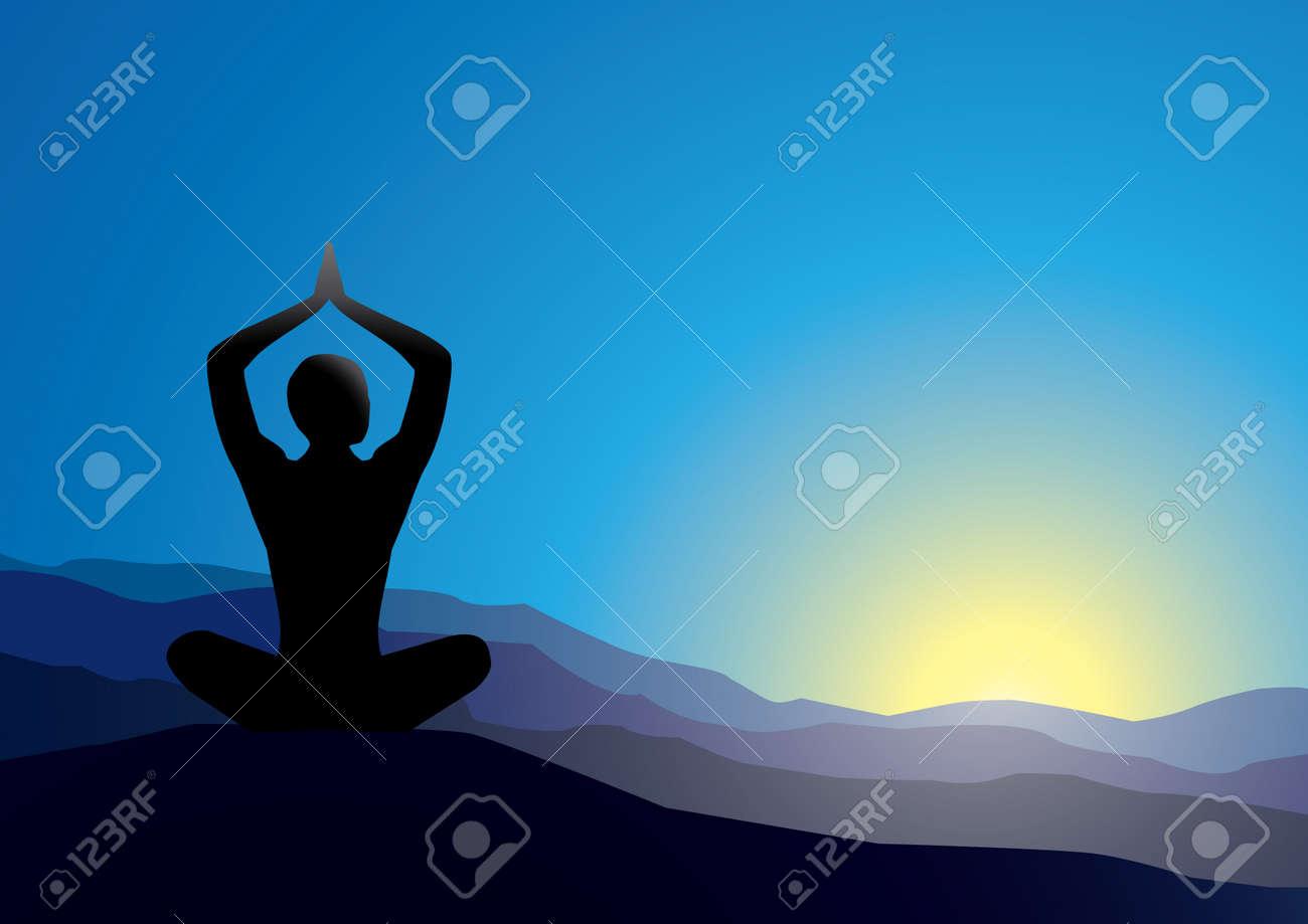 yoga Stock Vector - 4578306