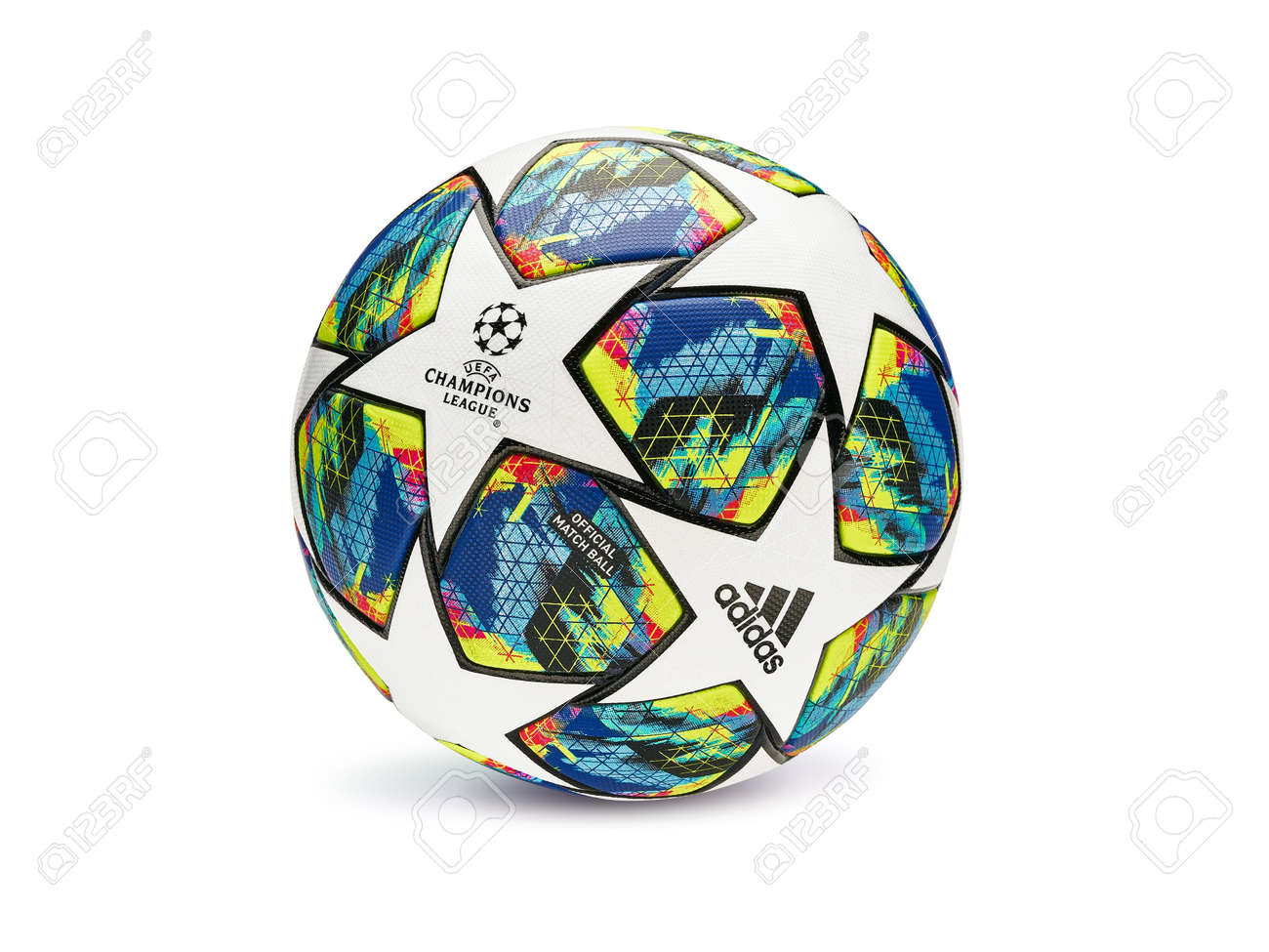 kyiv ukraine august 07 2019 official match ball of uefa champions stock photo picture and royalty free image image 141904078 kyiv ukraine august 07 2019 official match ball of uefa champions