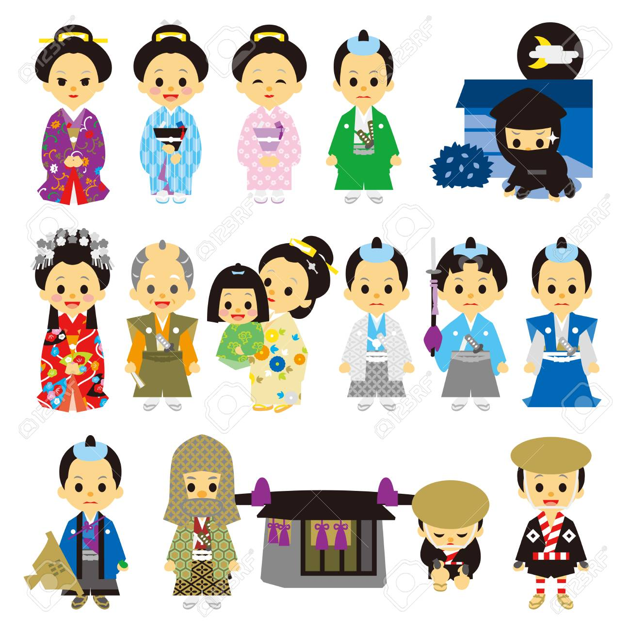 Japanese Free To Use Clipart - Japanese People Clip Art , Free Transparent  Clipart - ClipartKey