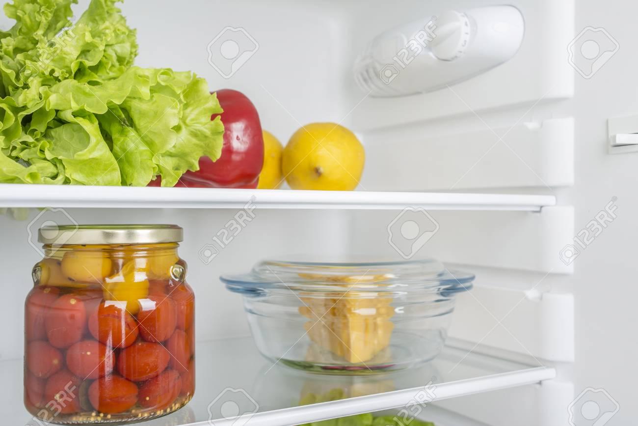 refrigerador de alimentos frescos