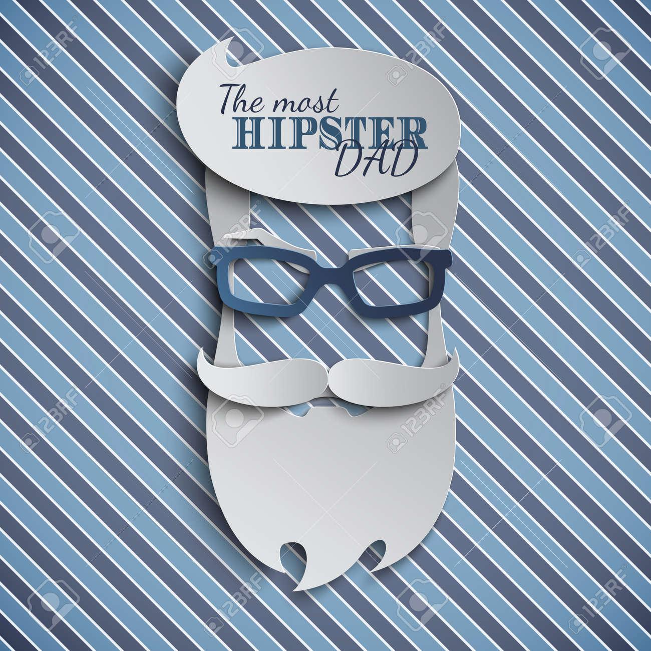 99b8c83ebb Diseño De Tarjeta Del Día De Padres Feliz Para Evento Masculino ...