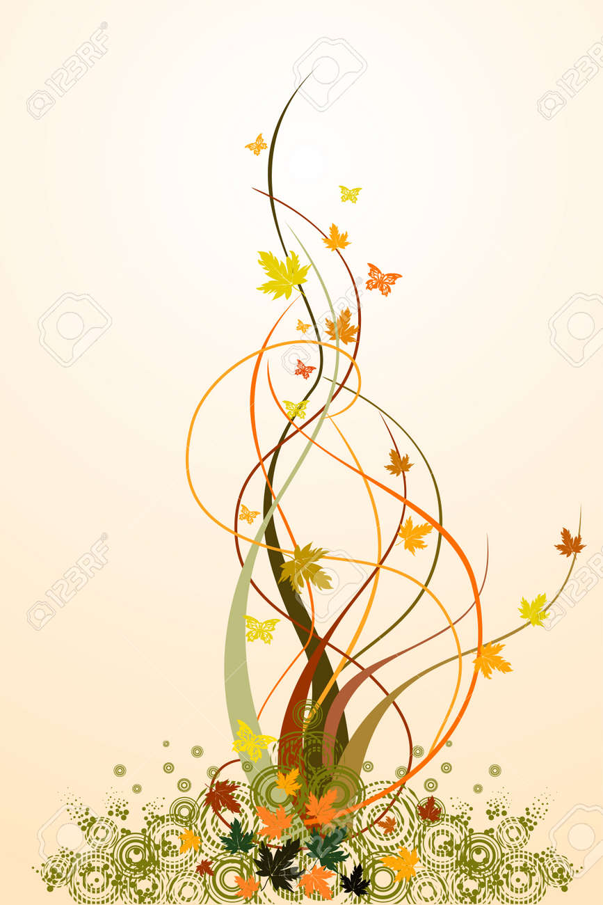 Vector floral background Stock Vector - 3706051