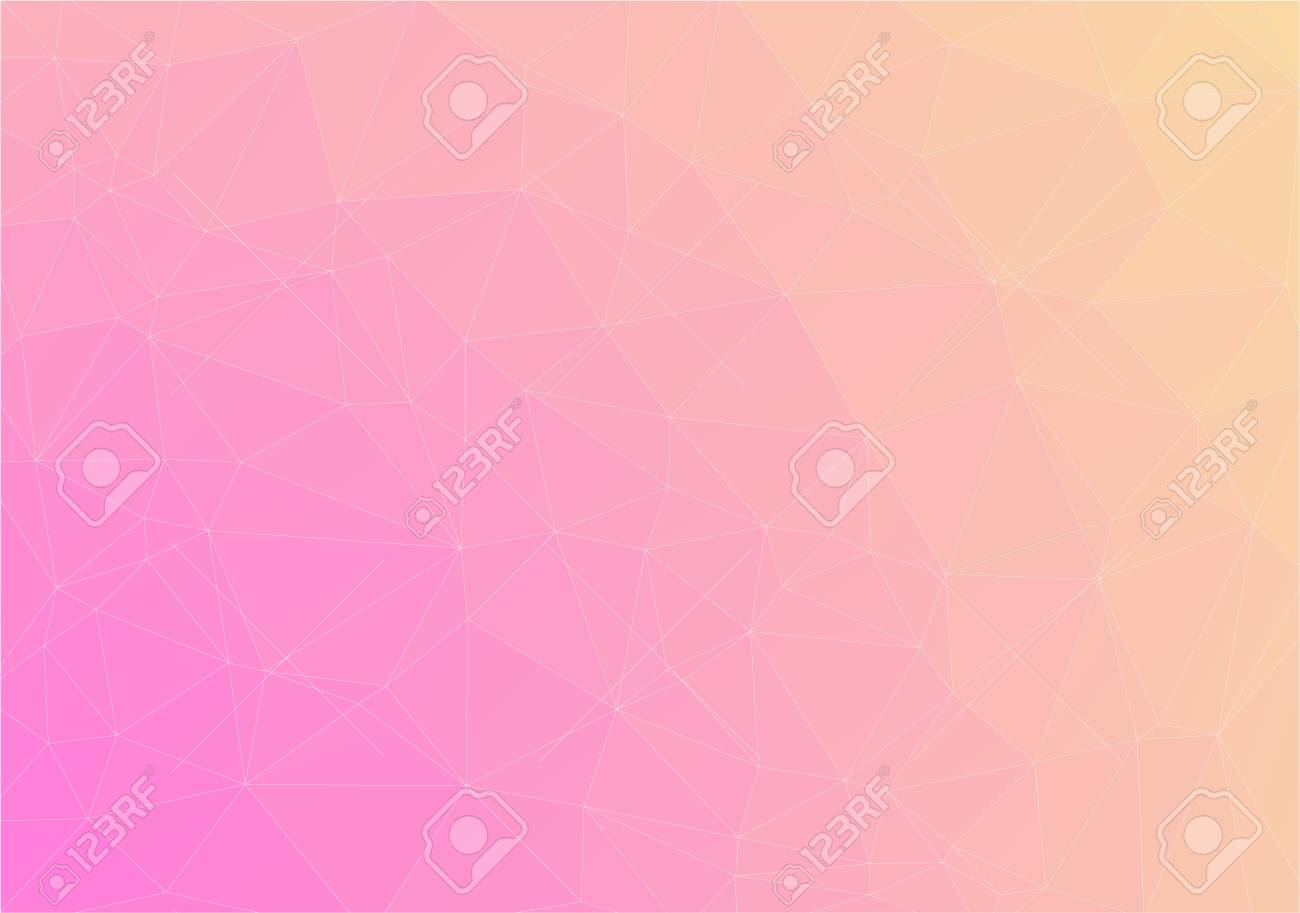Flat Duocolor Geometric Triangle Pattern Wallpaper Vector Background Stock