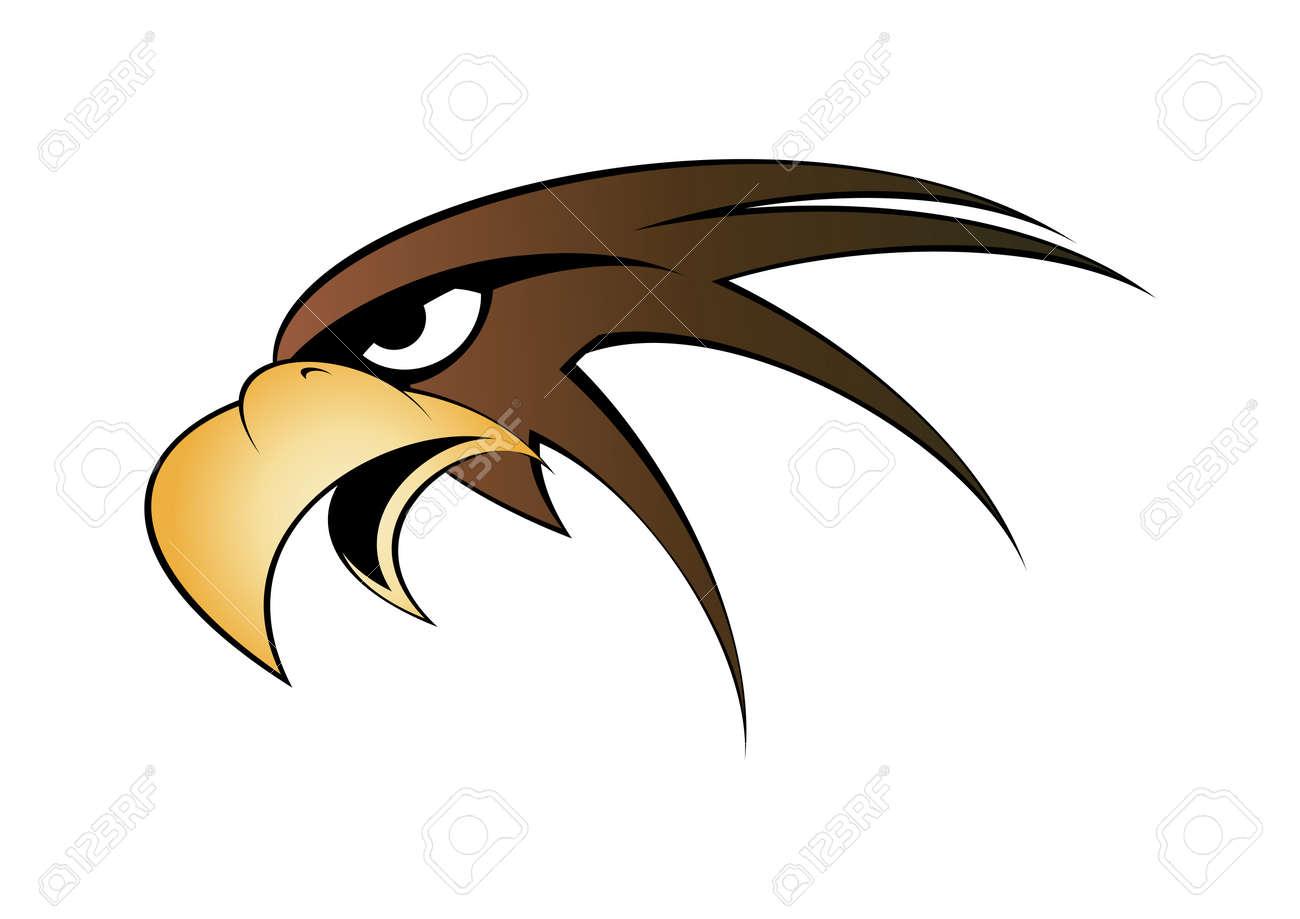 Vector - eagle head symbol  Eagle Head Symbol