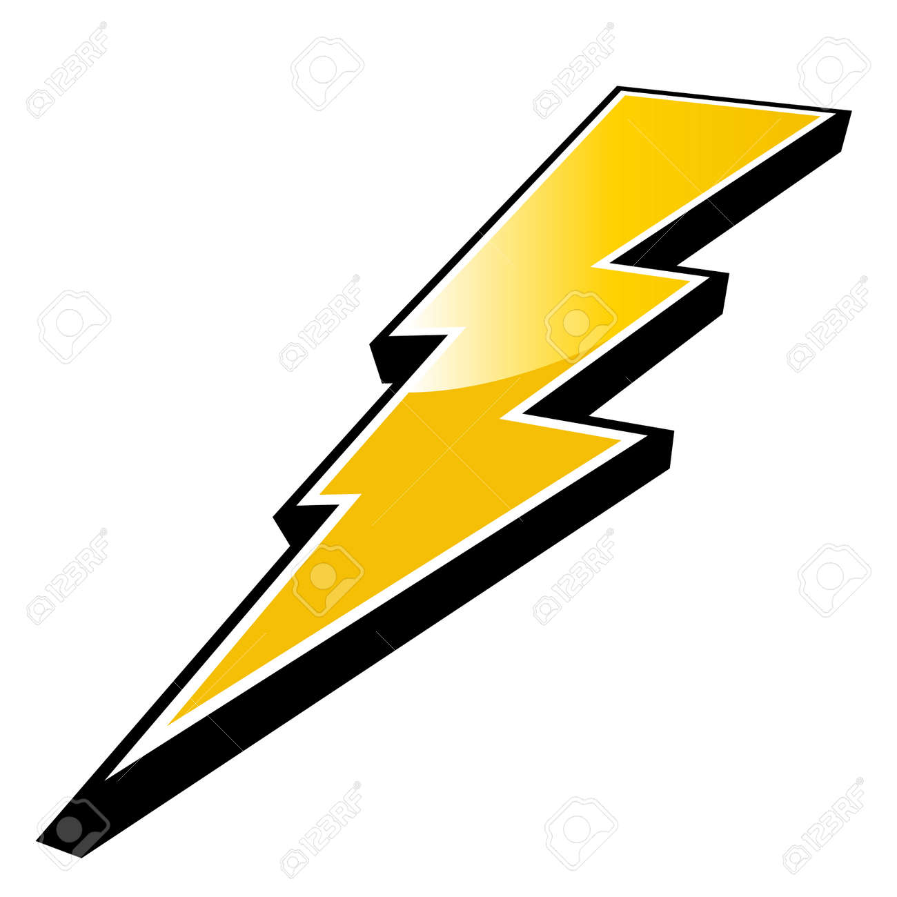 modern lightning logo