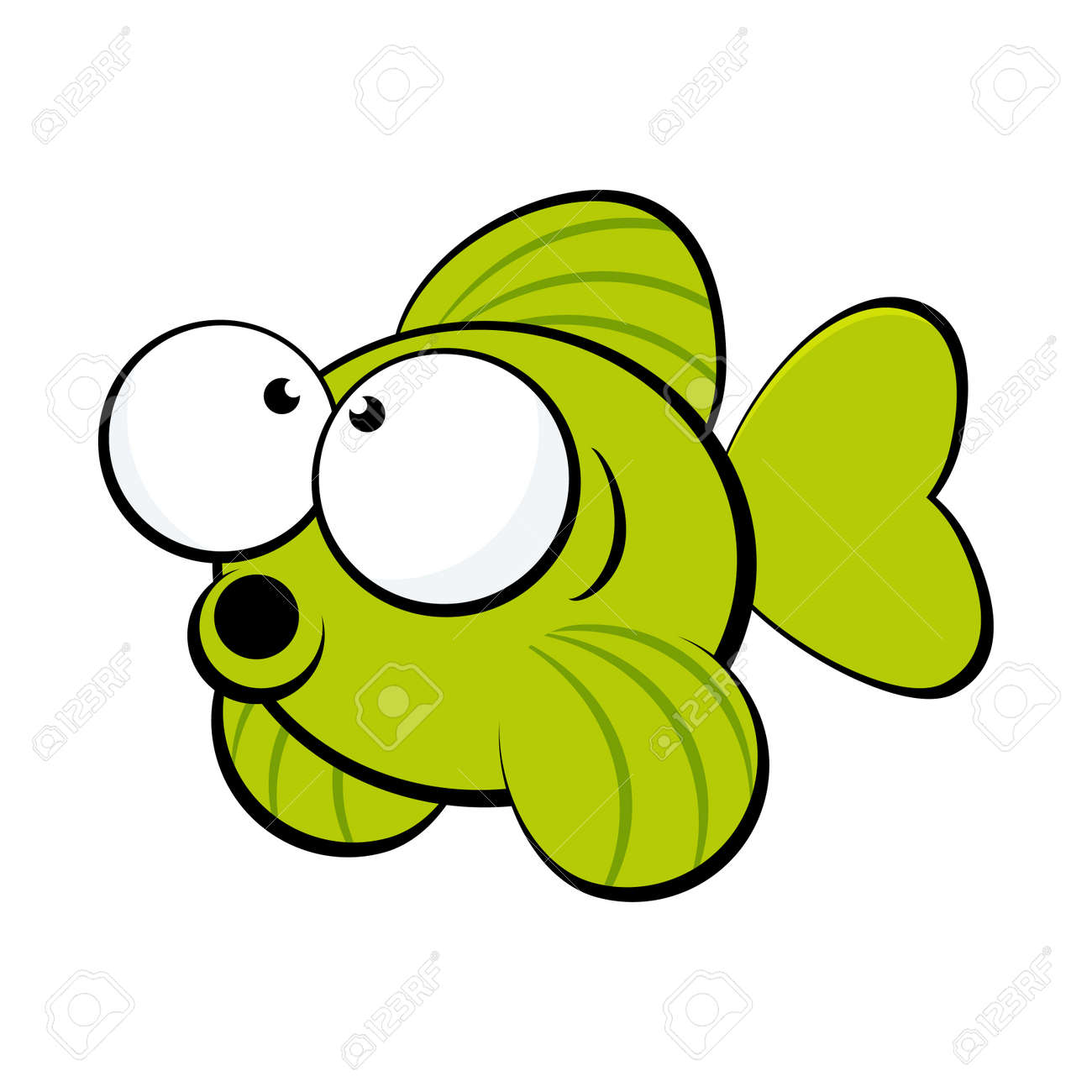 Funny cartoon fish royalty free cliparts vectors and stock funny cartoon fish stock vector 5010370 voltagebd Images