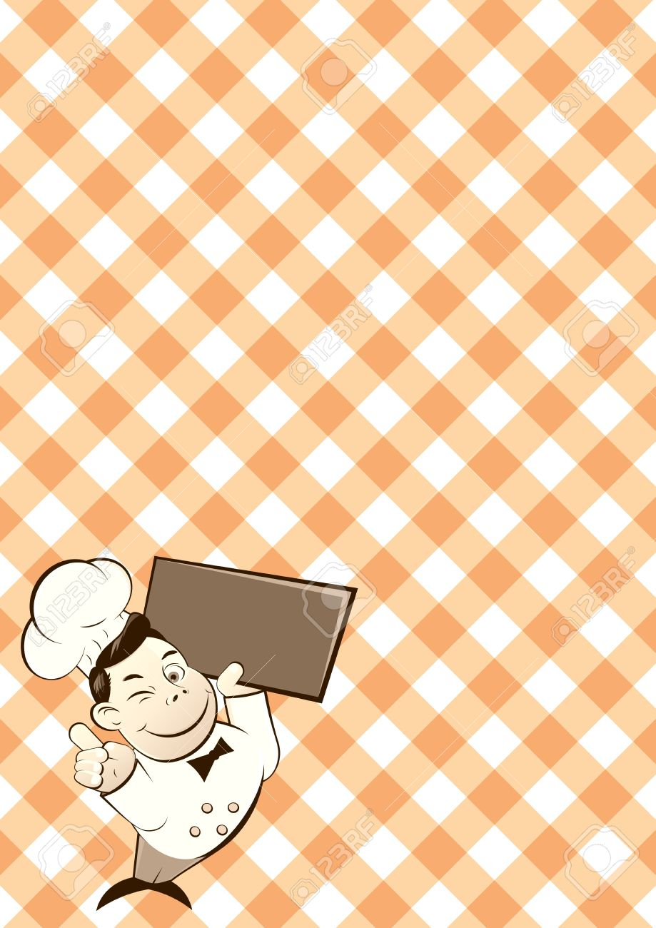 Restaurant Background Funny Restaurant Background Royalty Free Cliparts Vectors And