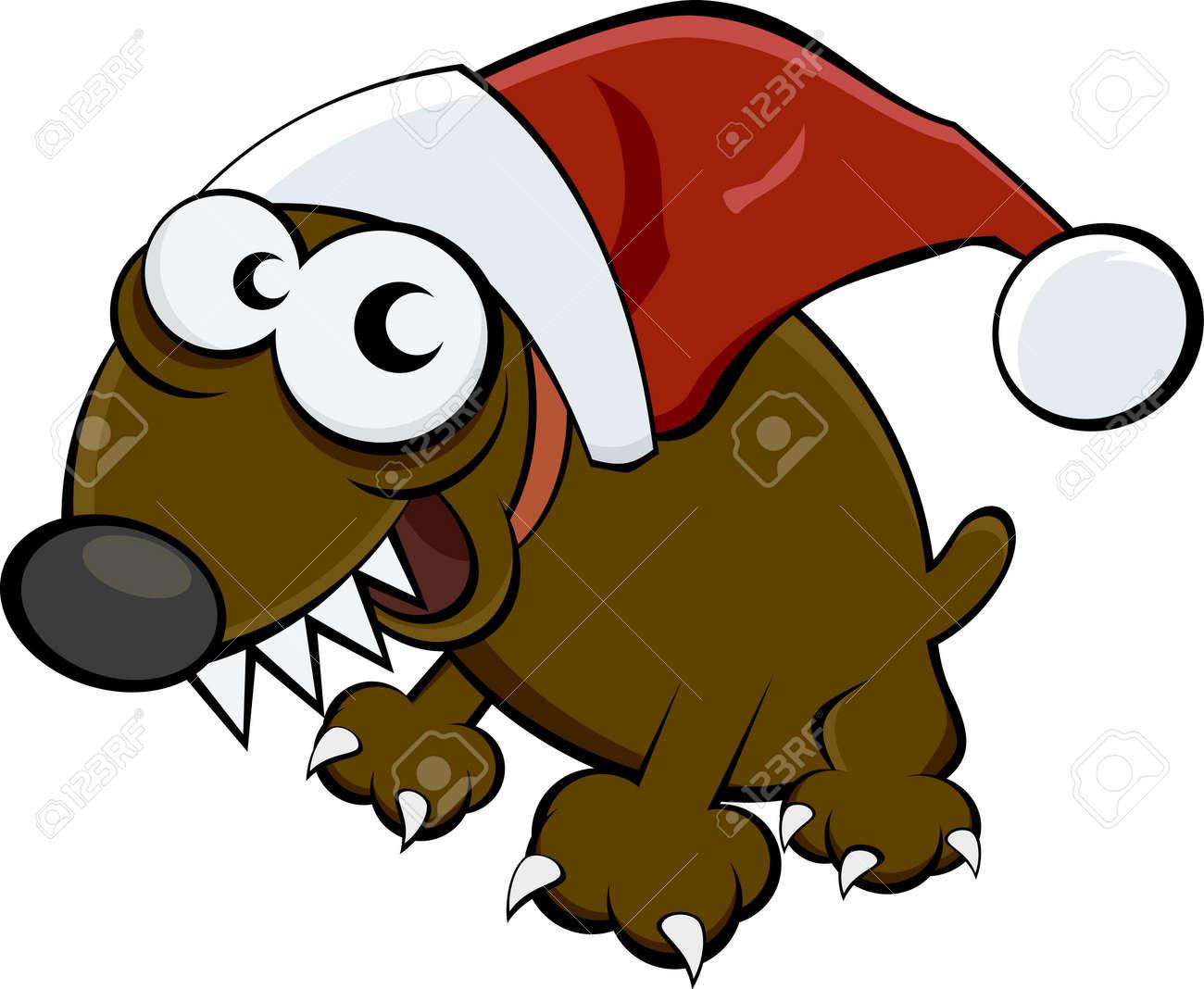christmas dog Stock Vector - 17841330