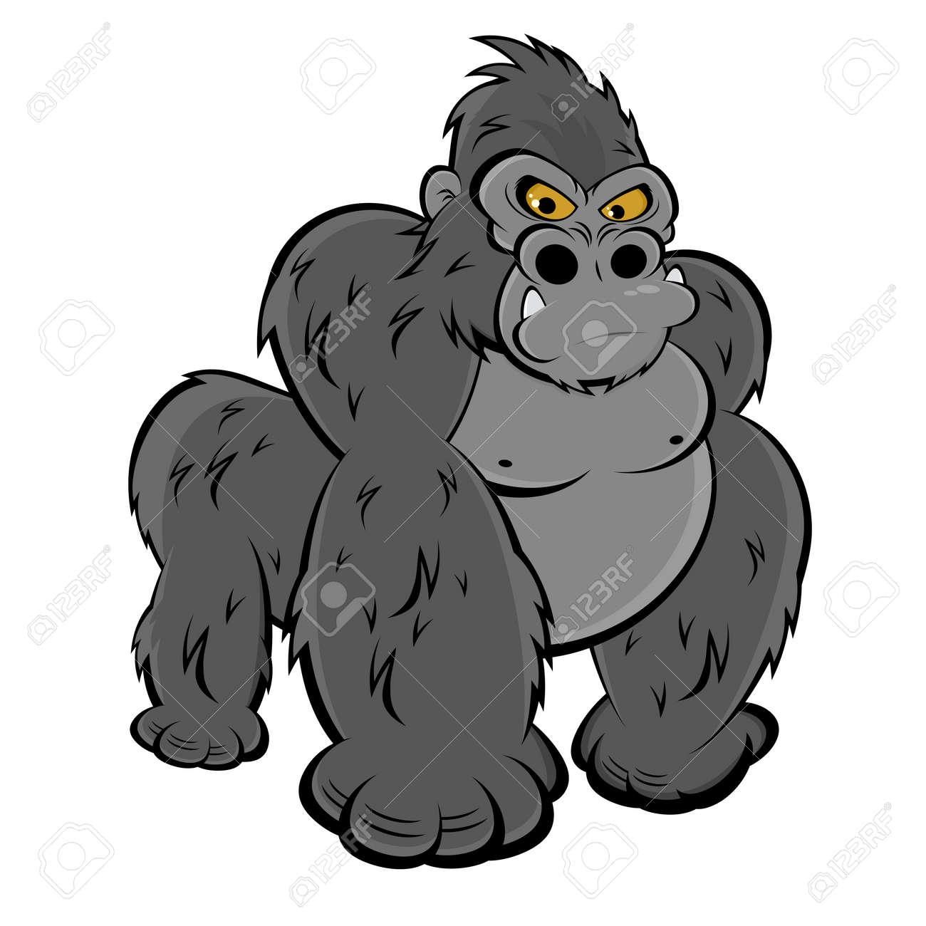 angry gorilla Standard-Bild - 20111899