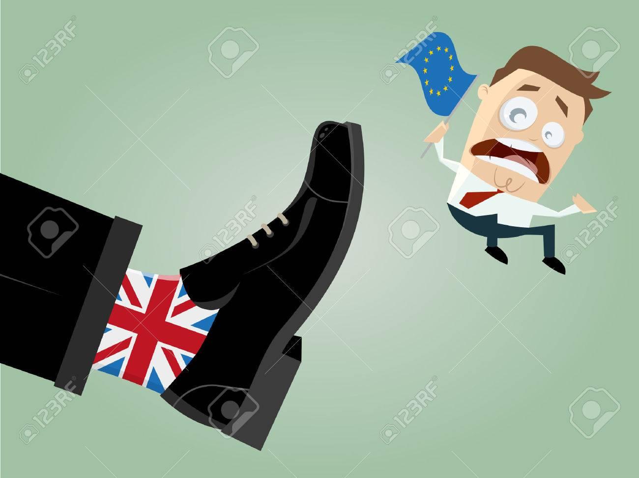 brexit Großbritannien EU-Ausgang Standard-Bild - 53432411