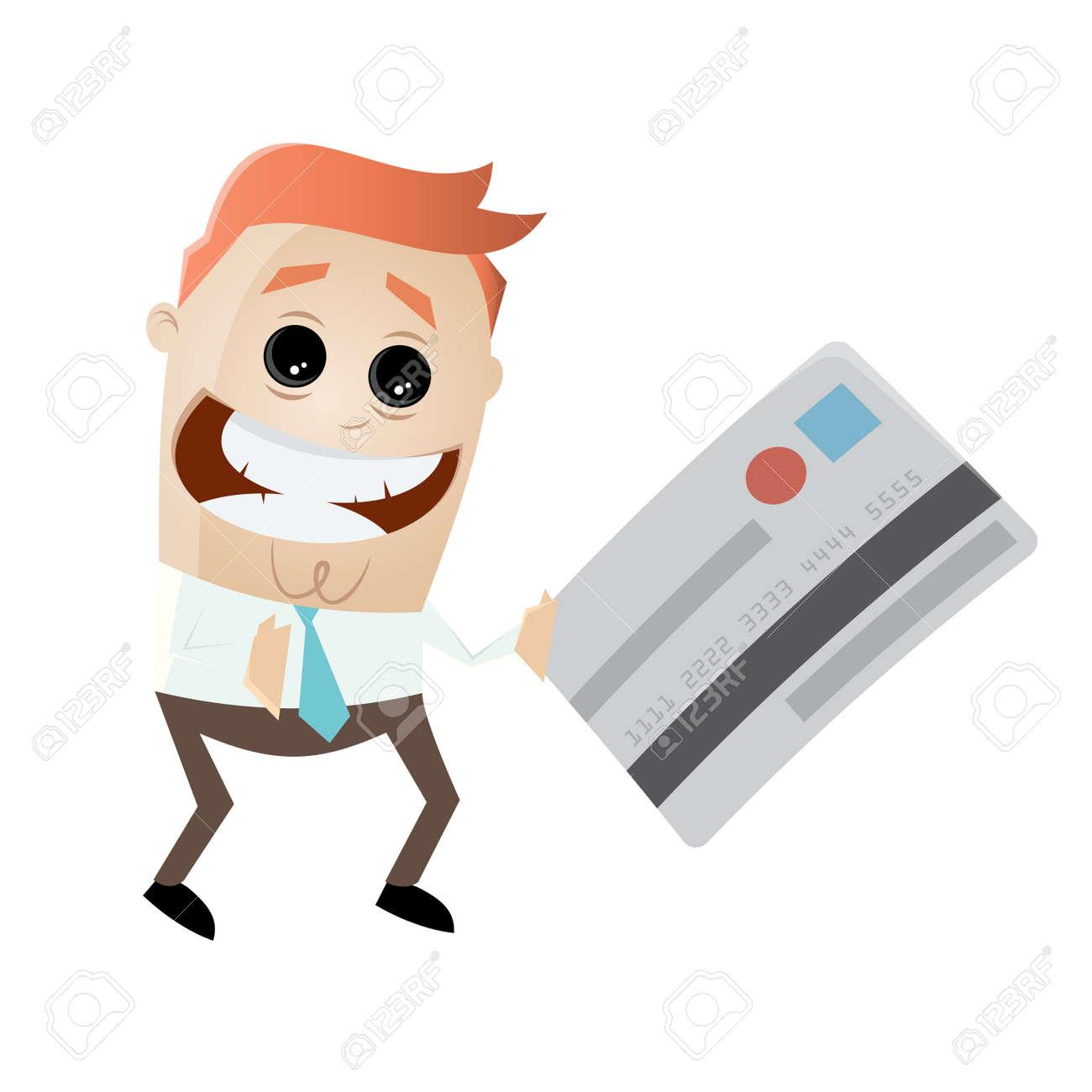 businessman with credit card Standard-Bild - 85215271