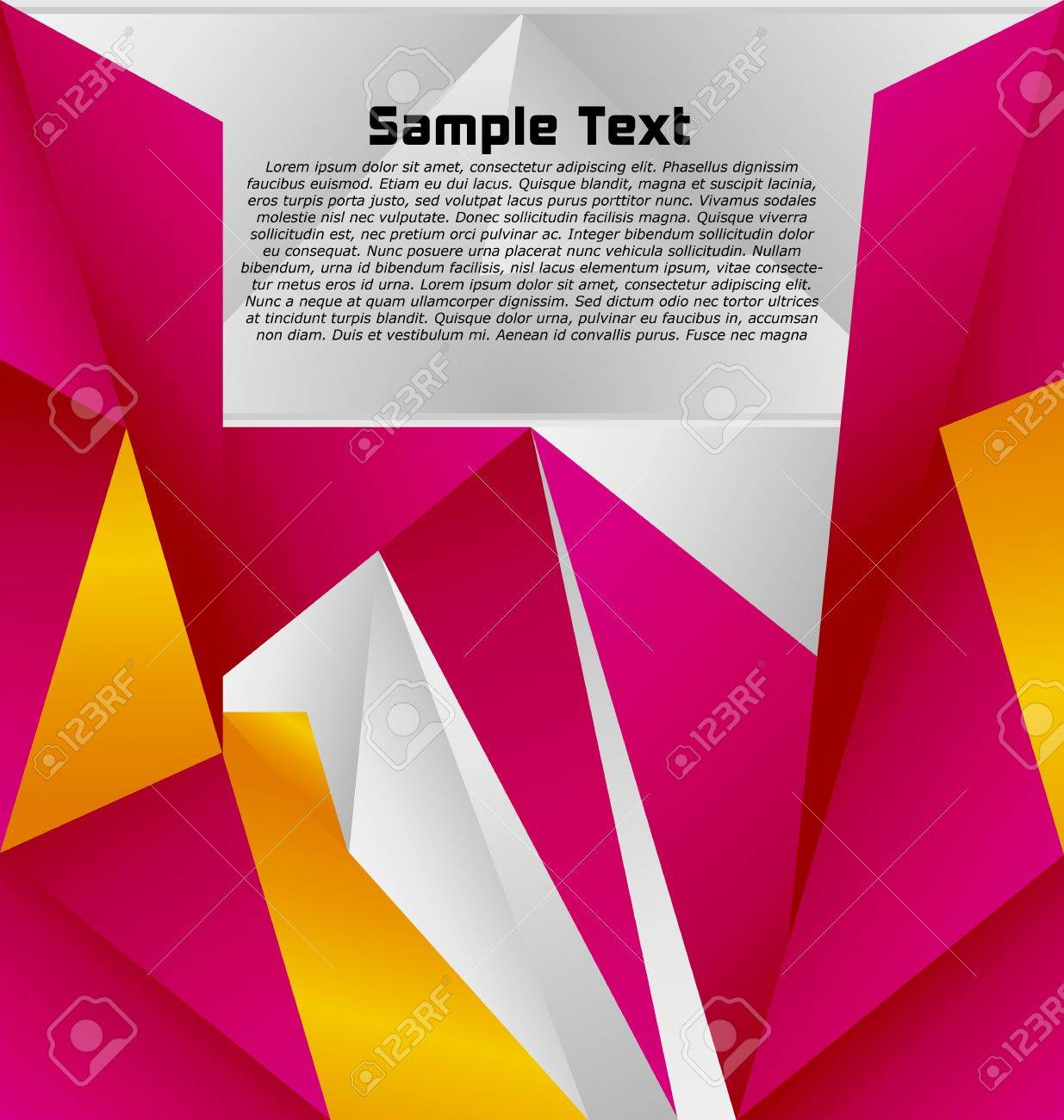Modern abstract colorful designed vector background Stock Vector - 10024395