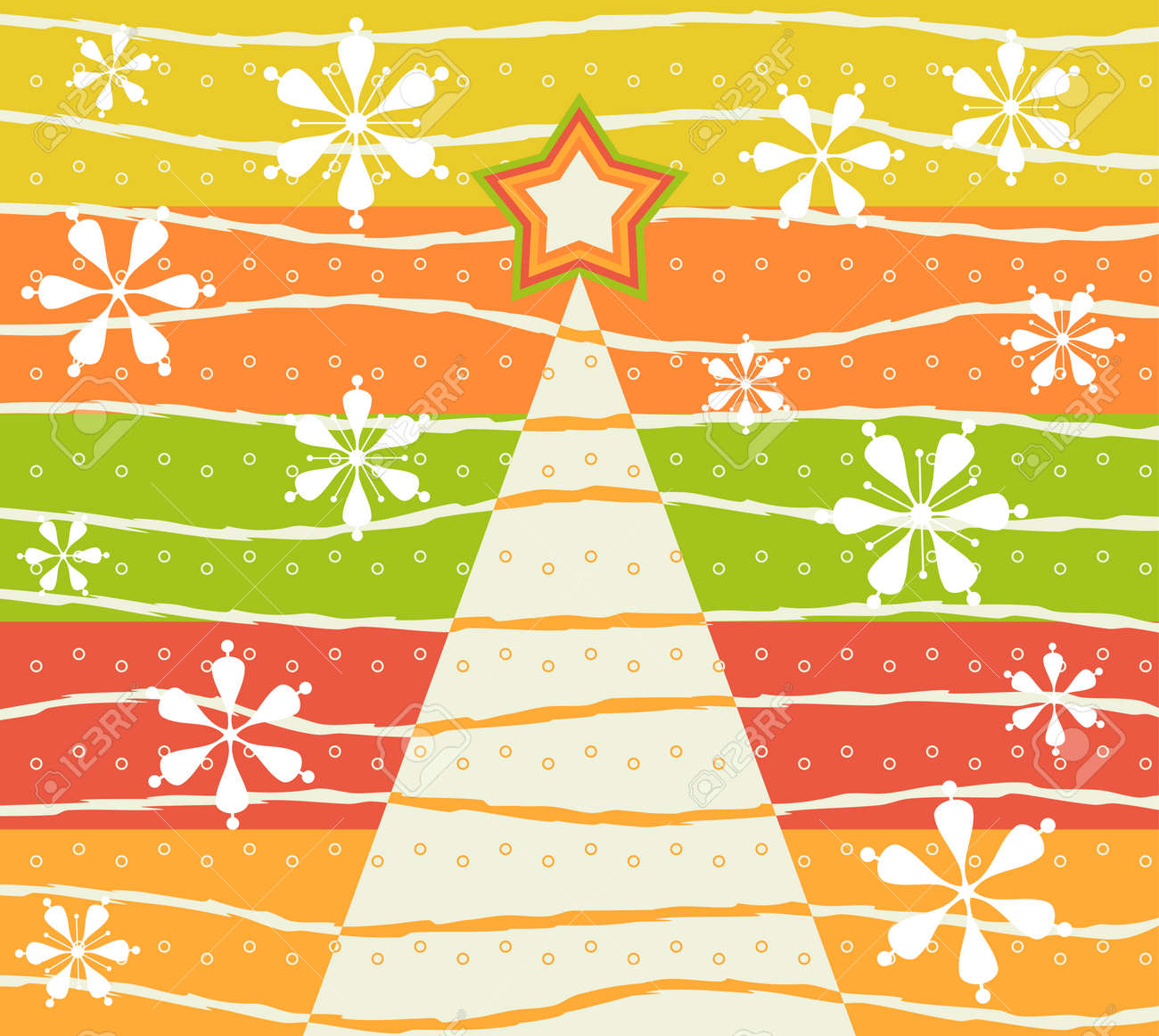Christmas card Stock Vector - 3925735