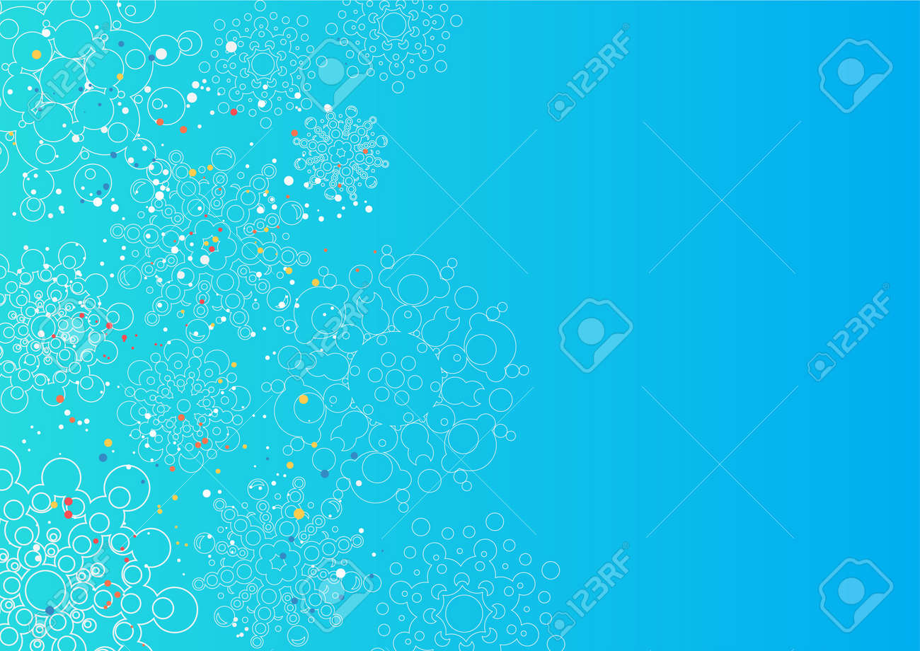 christmas background with snowflakes. layered vector Stock Vector - 17179914
