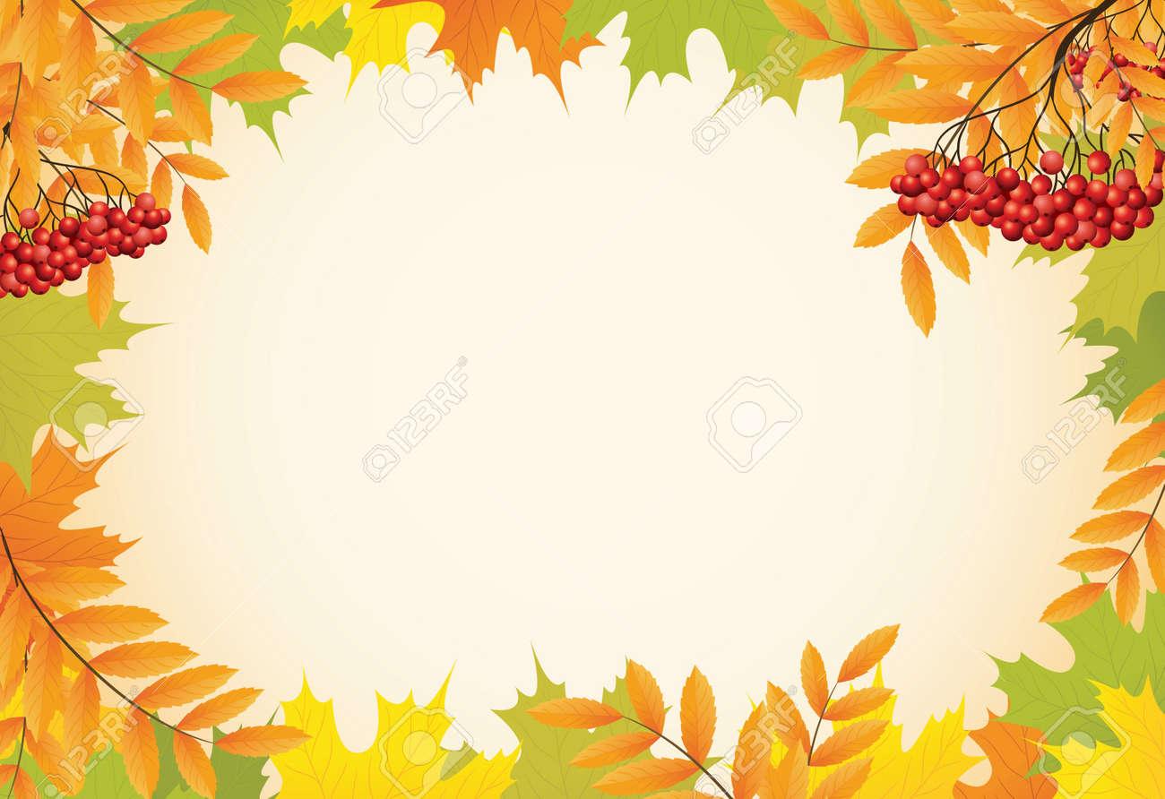 фон осень для фото