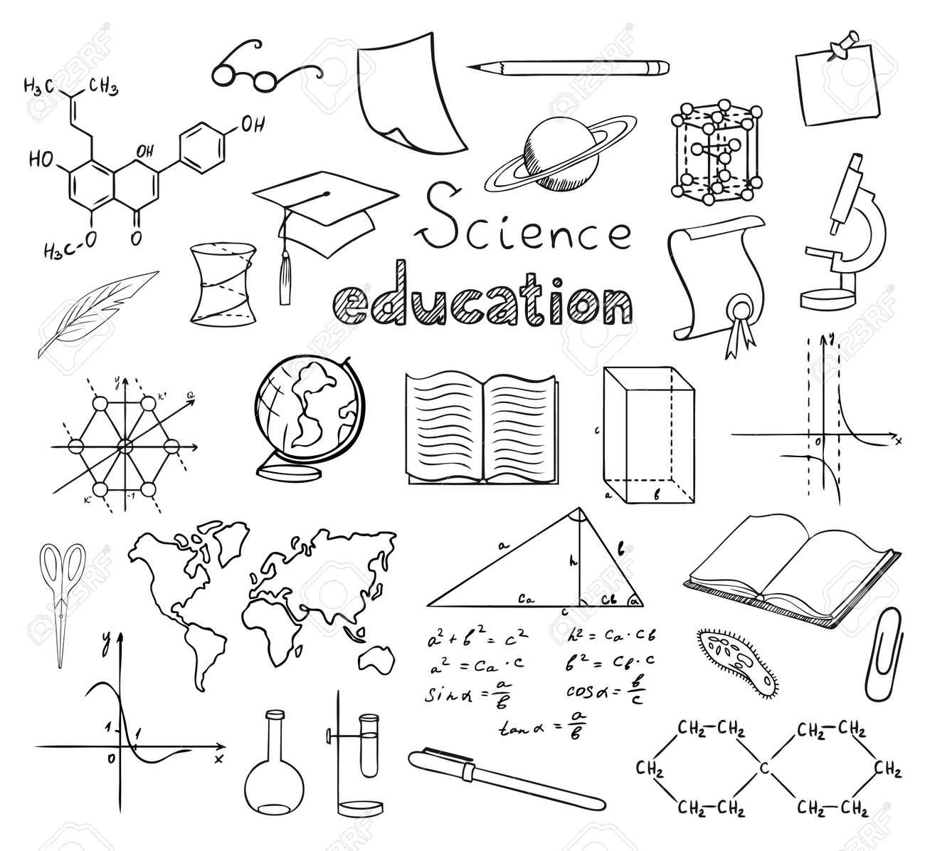 School and education symbols vector royalty free cliparts vectors school and education symbols vector stock vector 10446435 buycottarizona Image collections