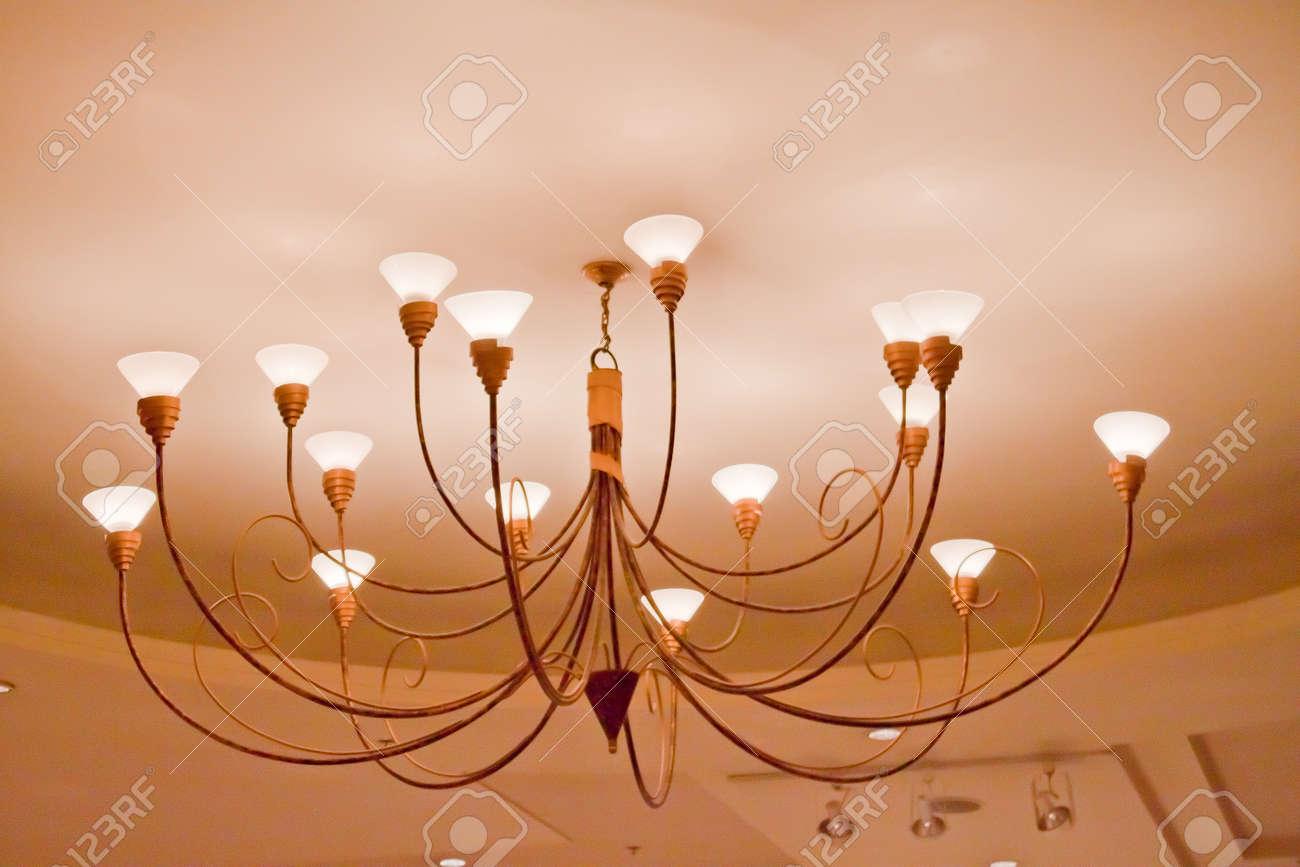 ceiling lamp Stock Photo - 13898229