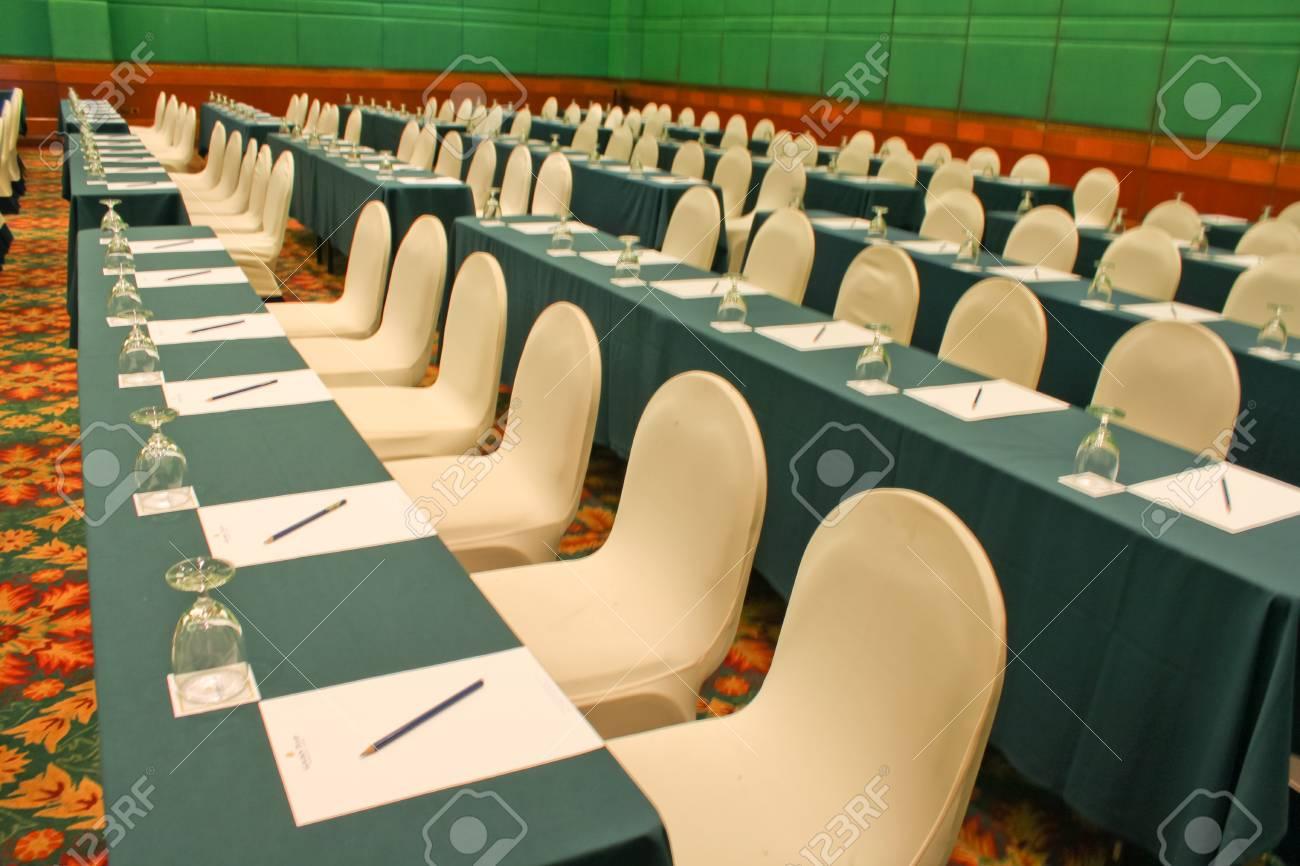 luxuary seminar room in hotel Stock Photo - 13898231
