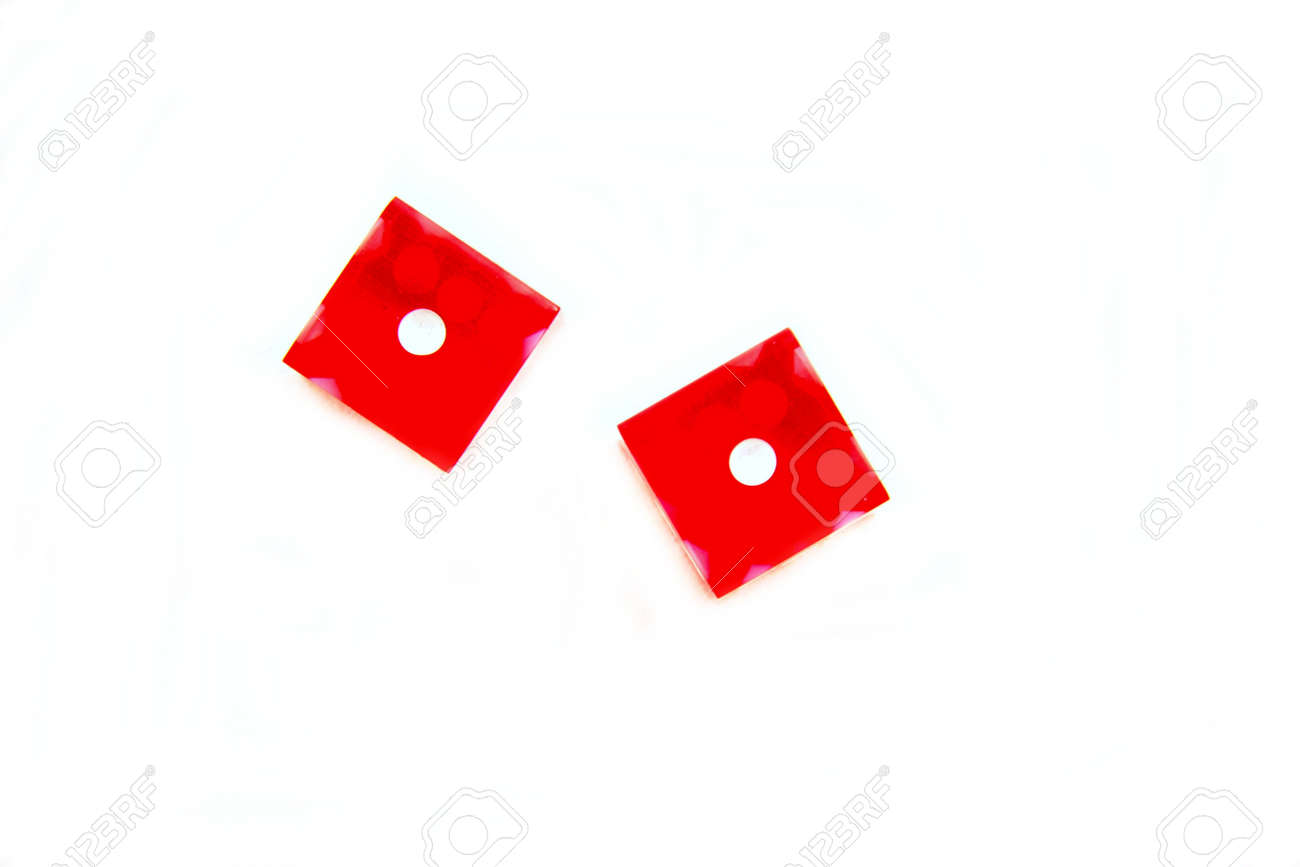 Red Dice Snake Eyes Stock Photo Picture And Royalty Free Image